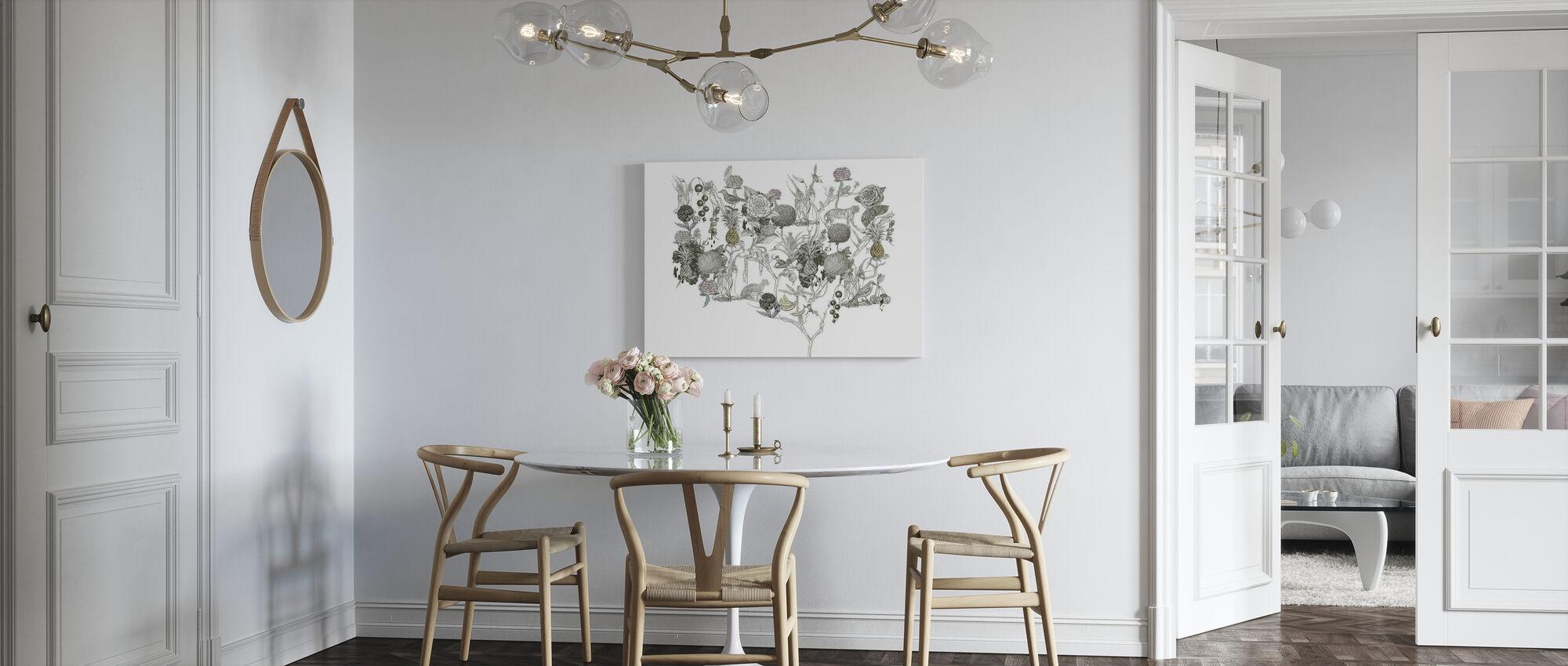 Wild at Heart 4 - Canvas print - Kitchen