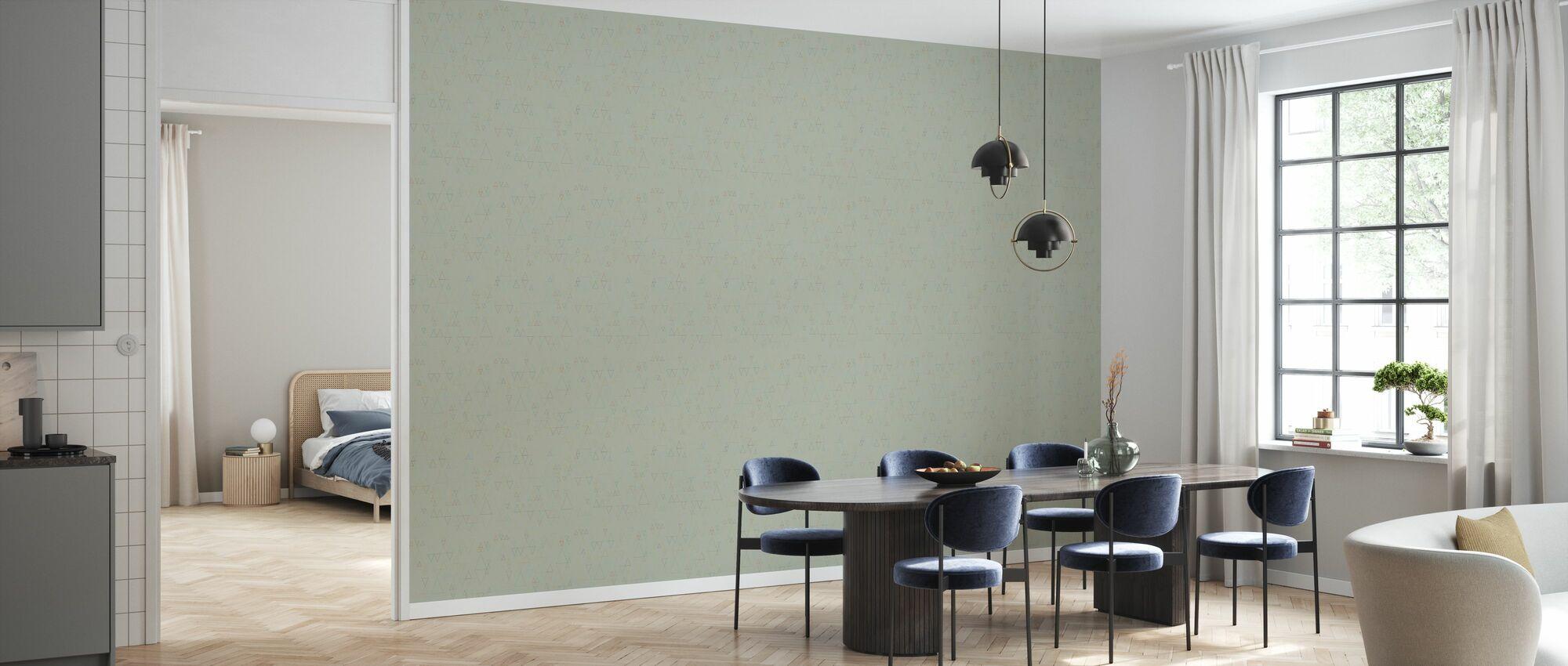 Retroline Grey - Wallpaper - Kitchen