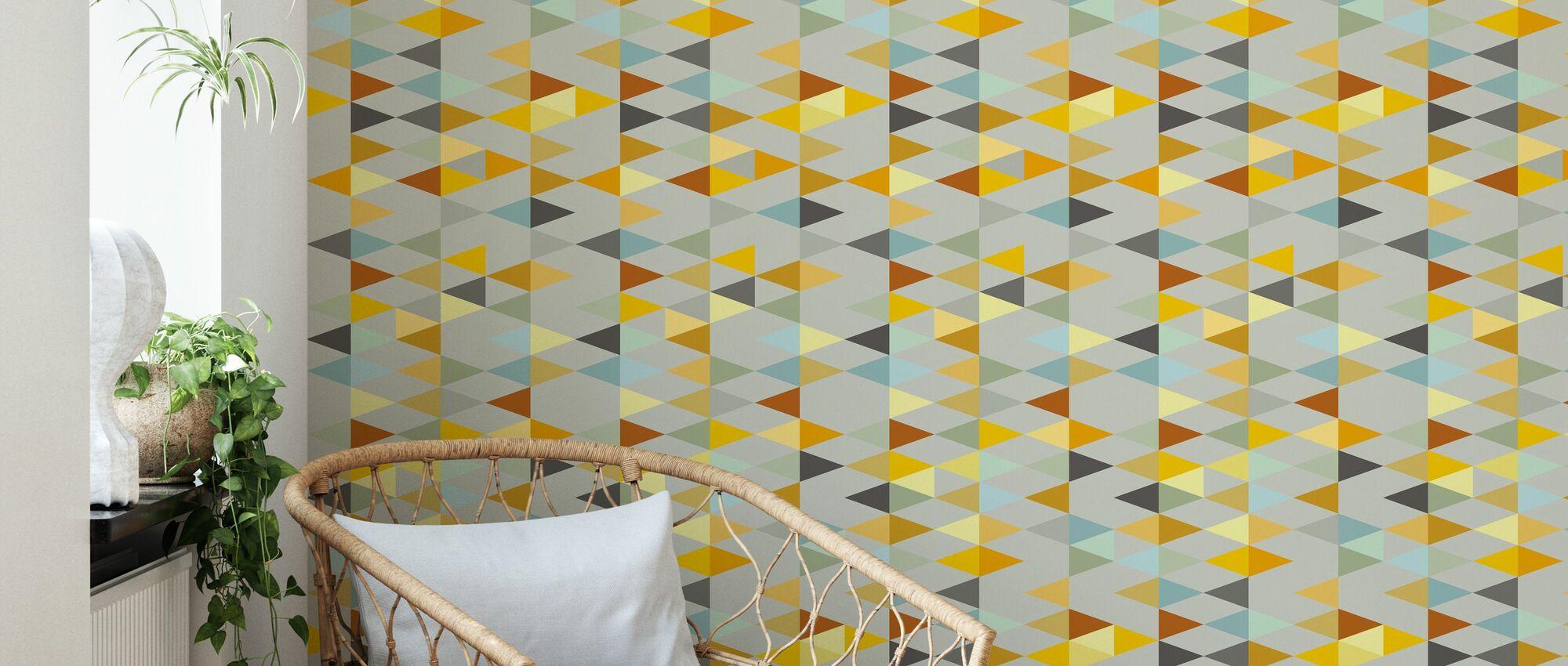 Twist Light - Wallpaper - Living Room