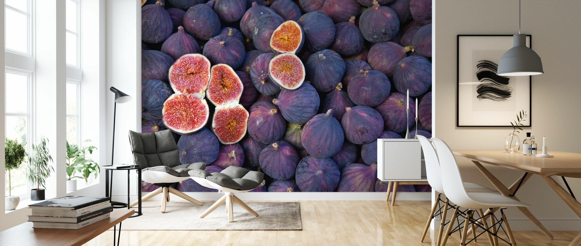 schöne Feigen - Tapete - Wohnzimmer