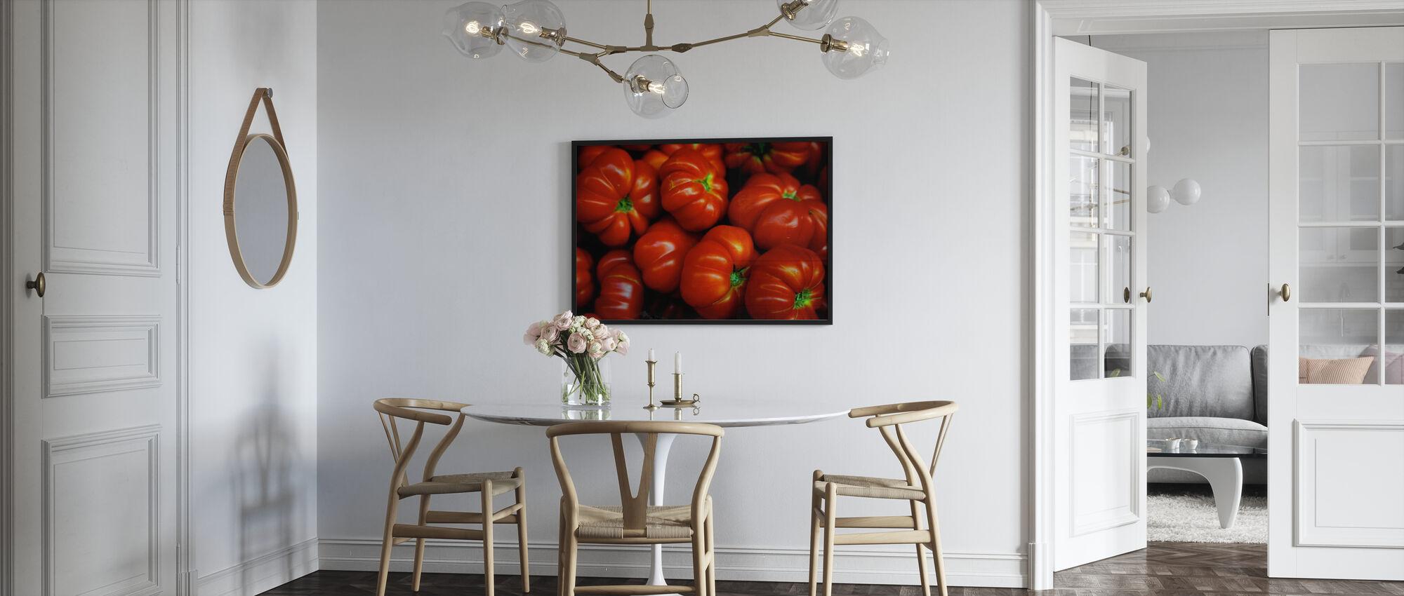 Italiaanse Tomaten - Ingelijste print - Keuken
