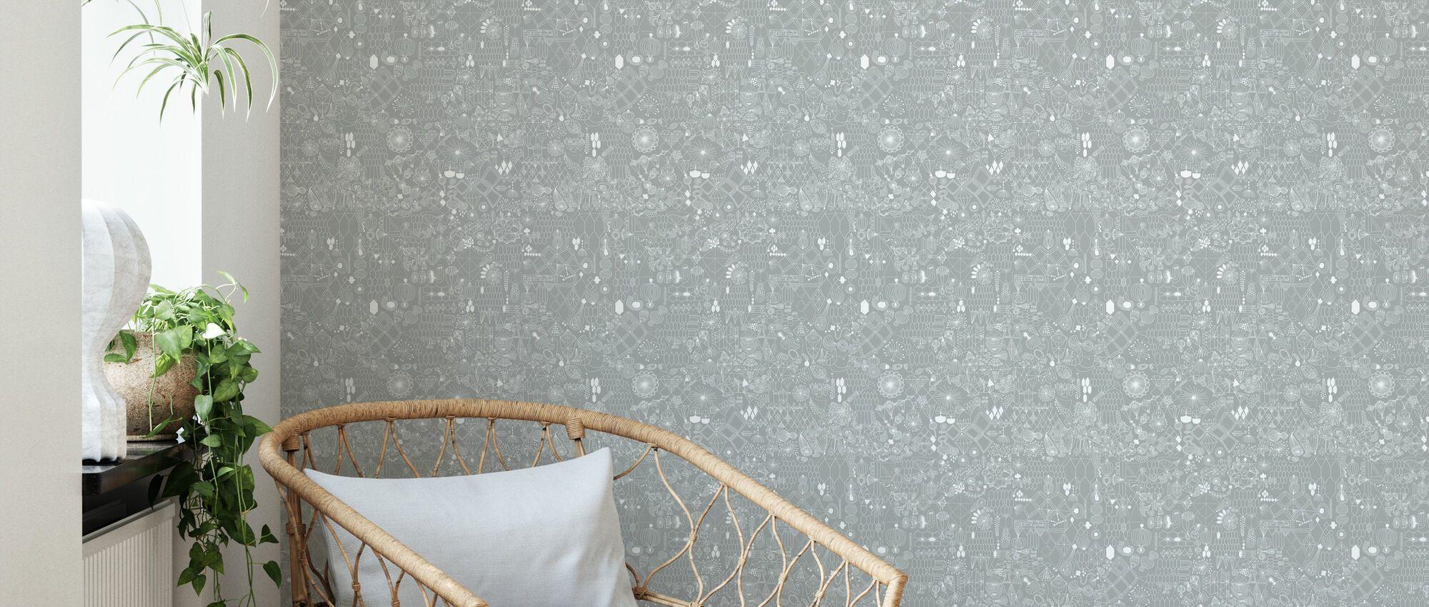 Linked - Wallpaper - Living Room