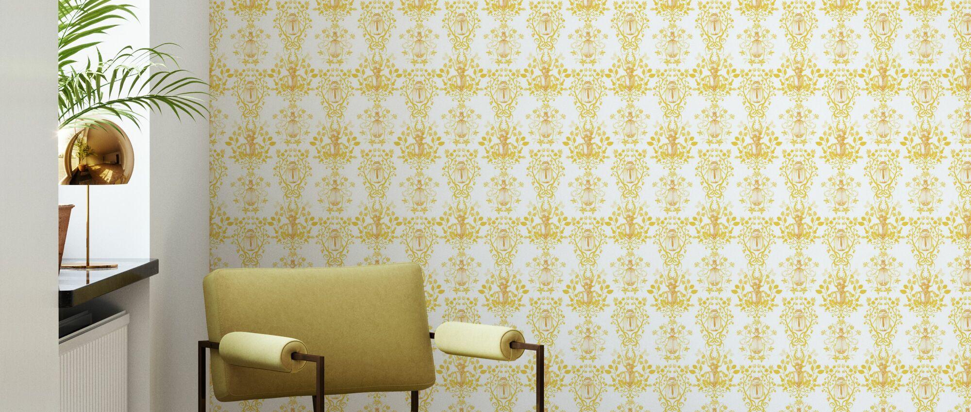 Beetles - Wallpaper - Living Room
