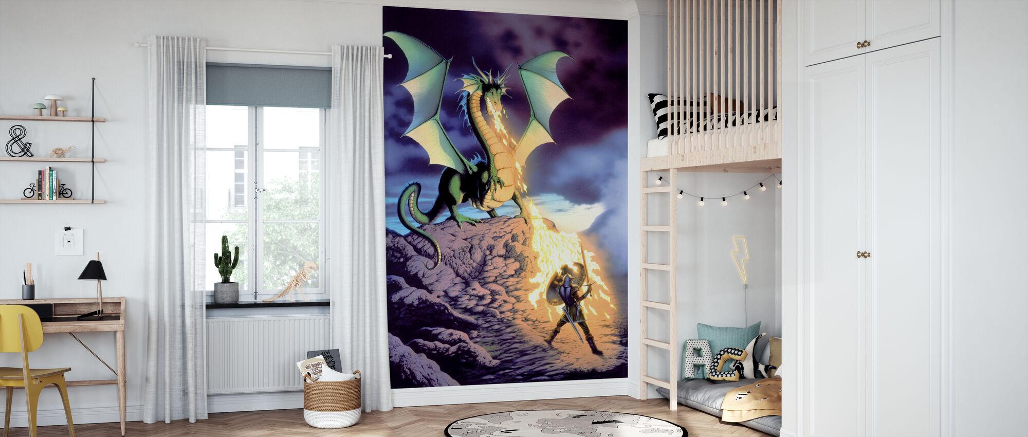 Dragon Warrior - Tapet - Barnrum