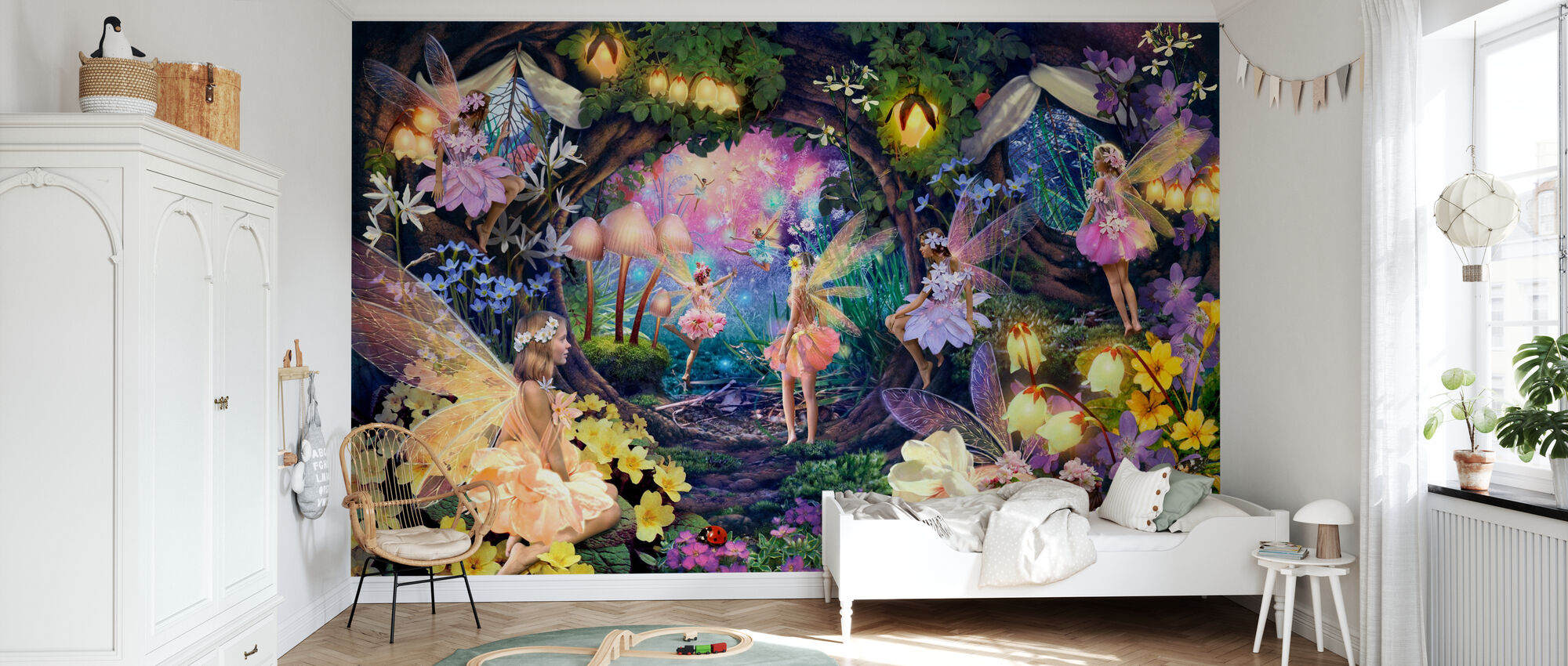Fairy Hollow - Wallpaper - Kids Room