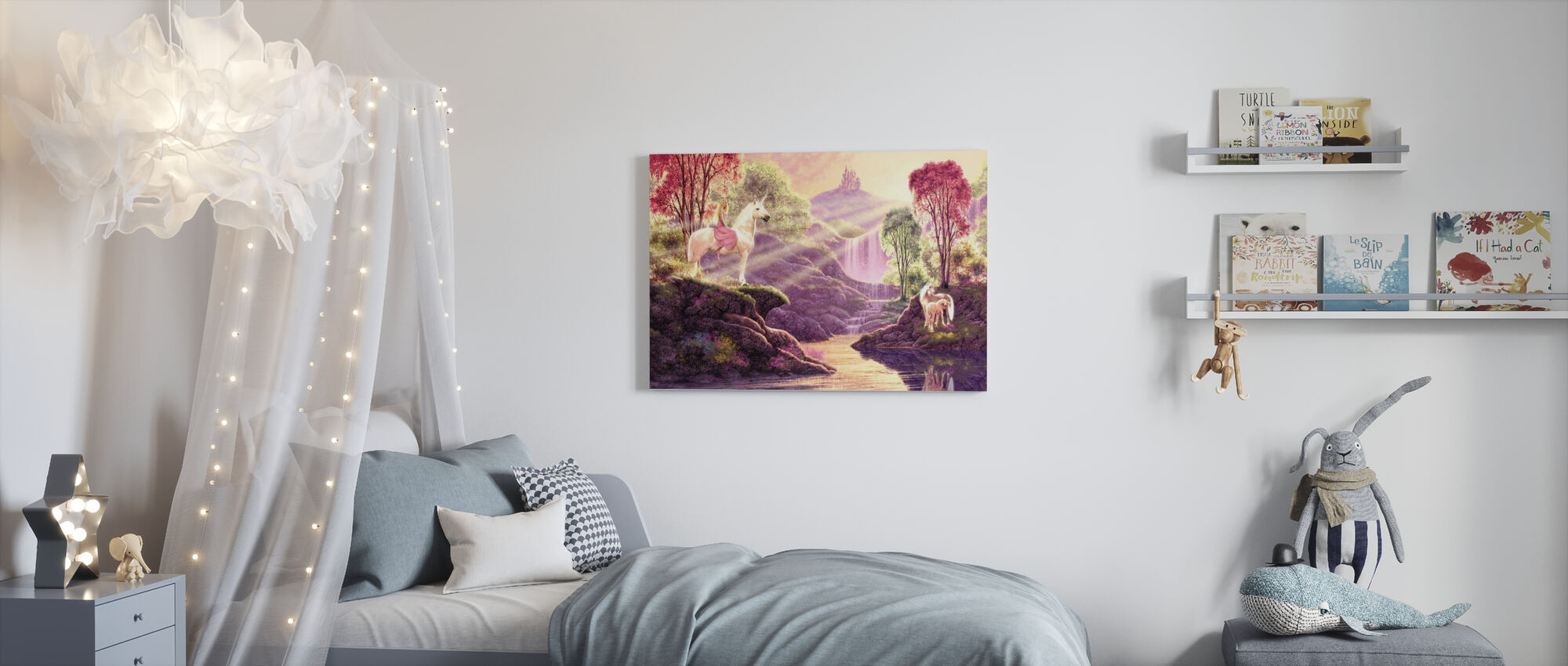 Secret Valley - Canvas print - Kids Room