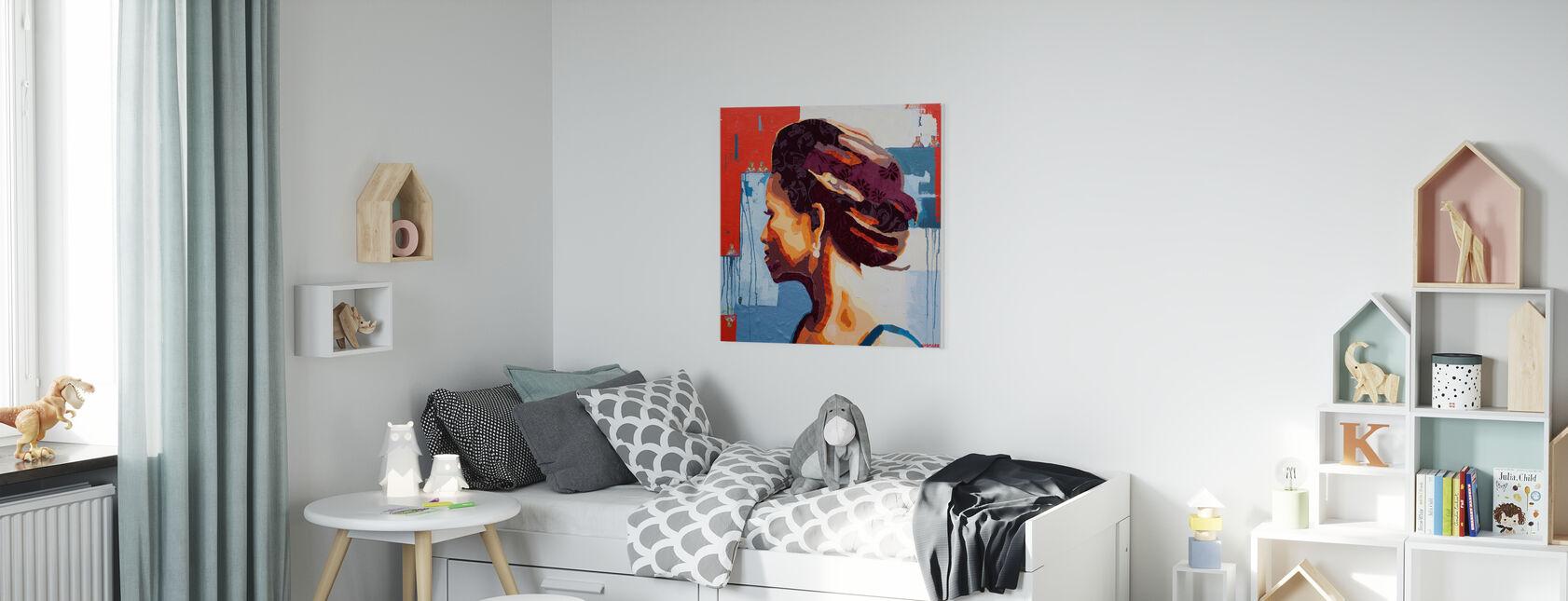 Queen of Spades - Canvas print - Kids Room