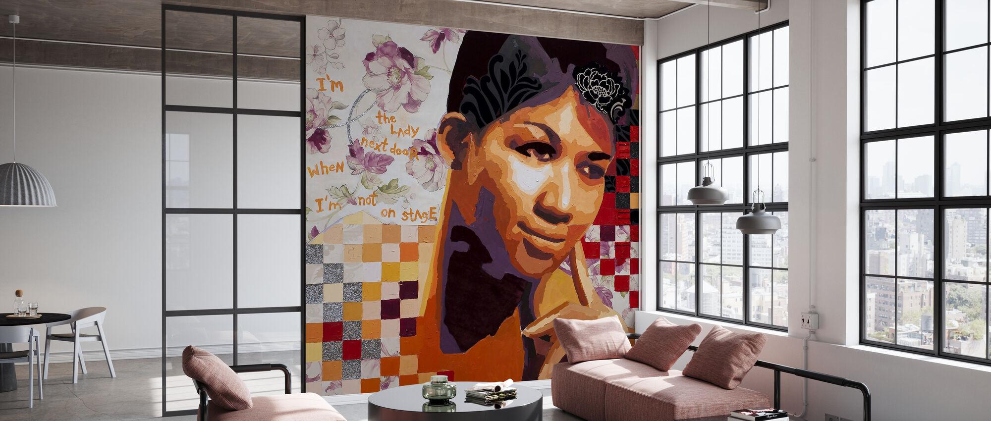 The Girl Next Door - Wallpaper - Office