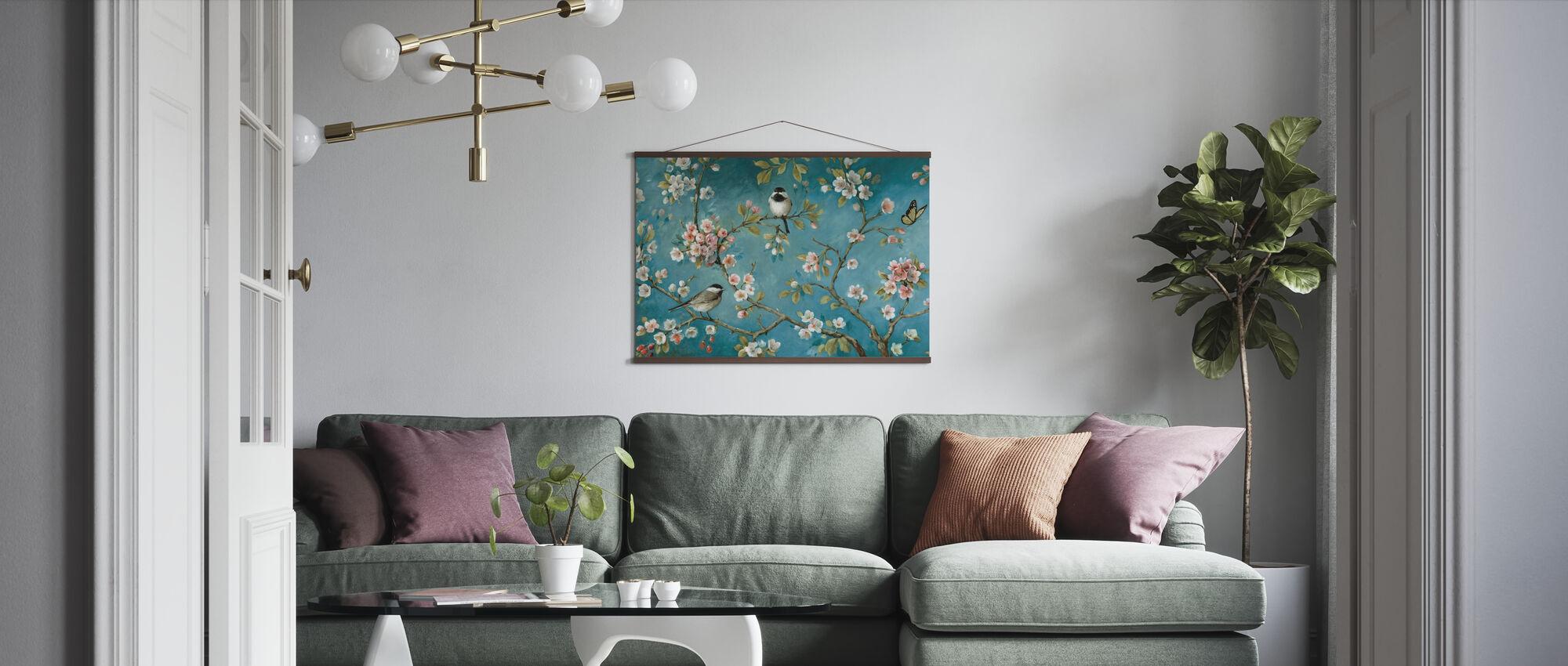 Blomma - Poster - Vardagsrum