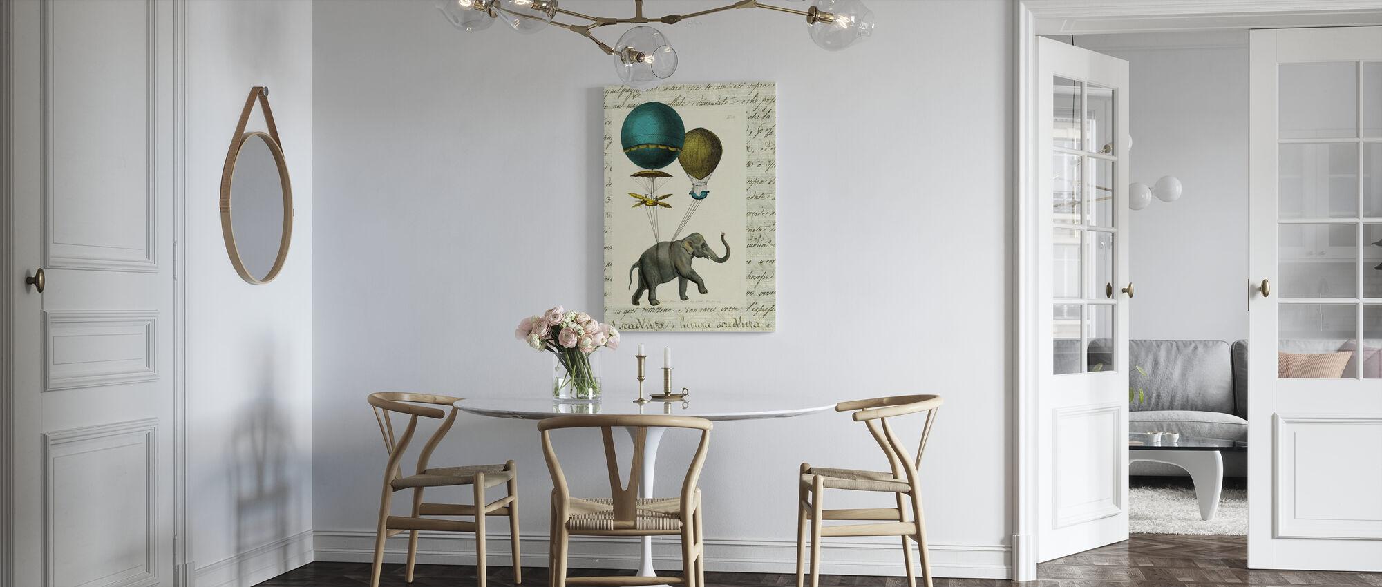 Elephant Ride 2 - Canvas print - Kitchen