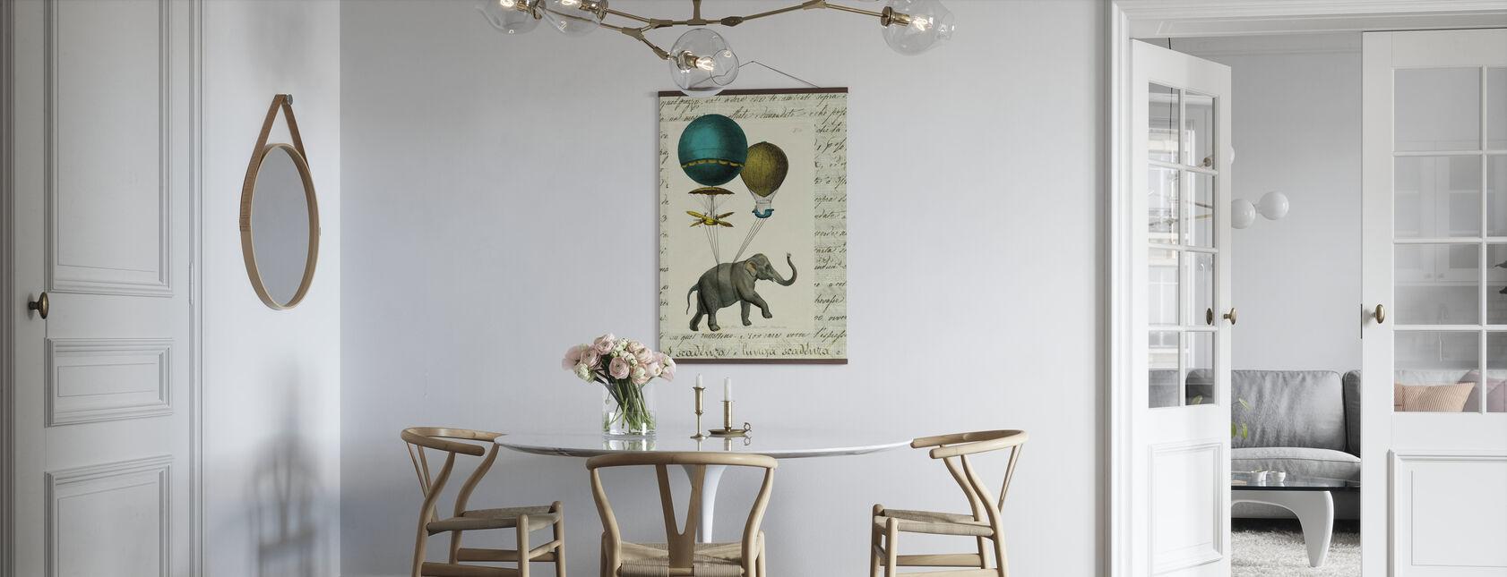 Elephant Ride 2 - Affiche - Cuisine