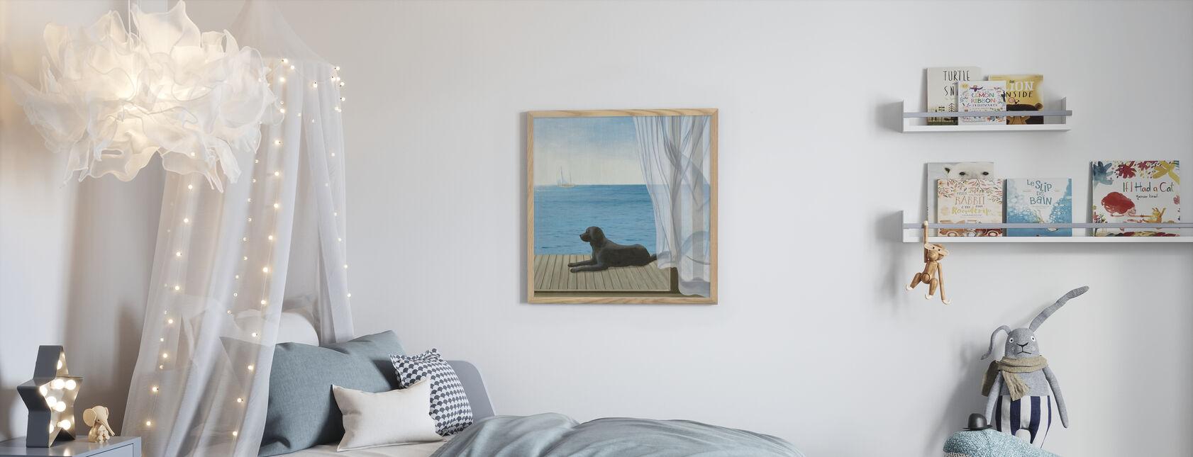 Blue Breeze 2 - Framed print - Kids Room