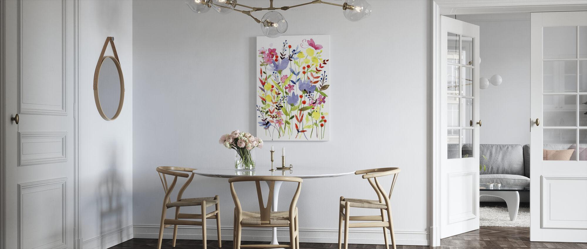Annes Flowers - Canvas print - Kitchen