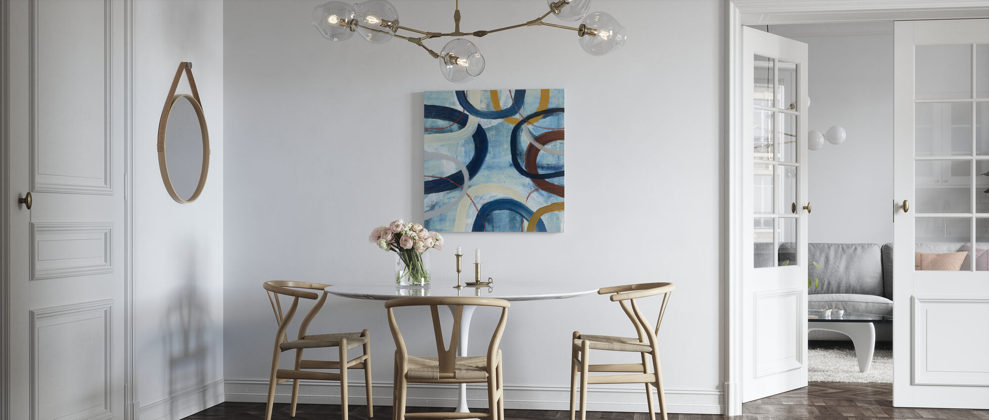 Dwell 2 - Canvas print - Keuken