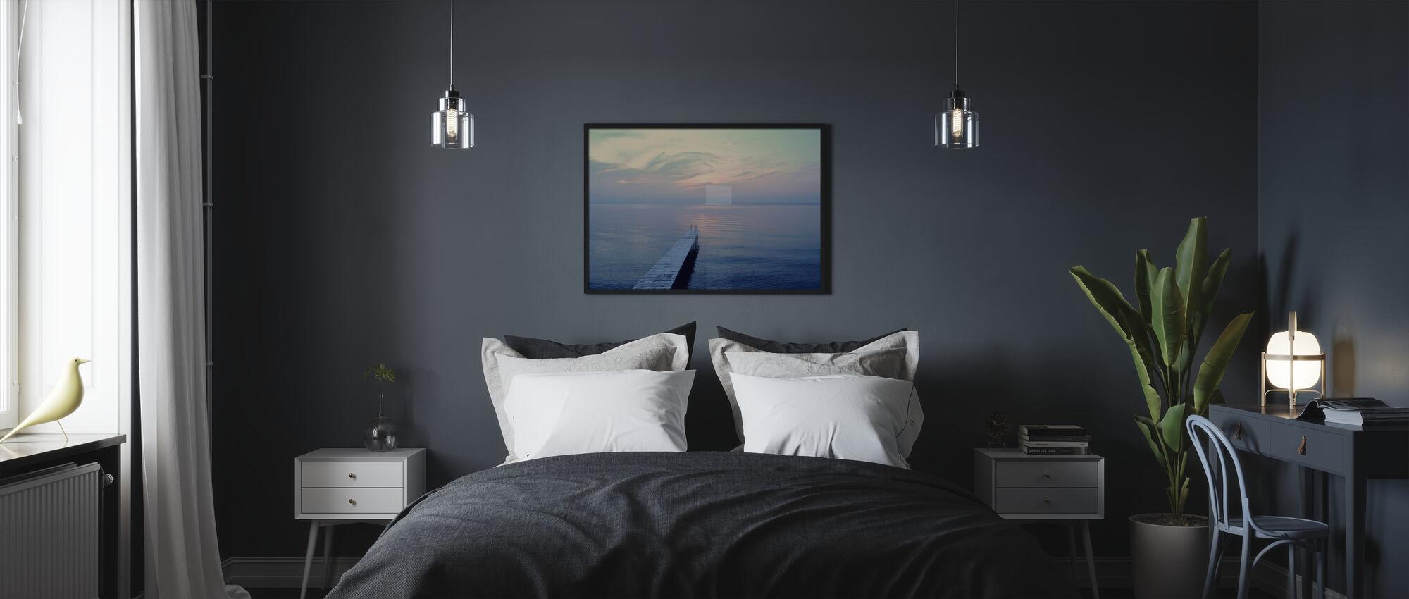 The Long Dock - Framed print - Bedroom