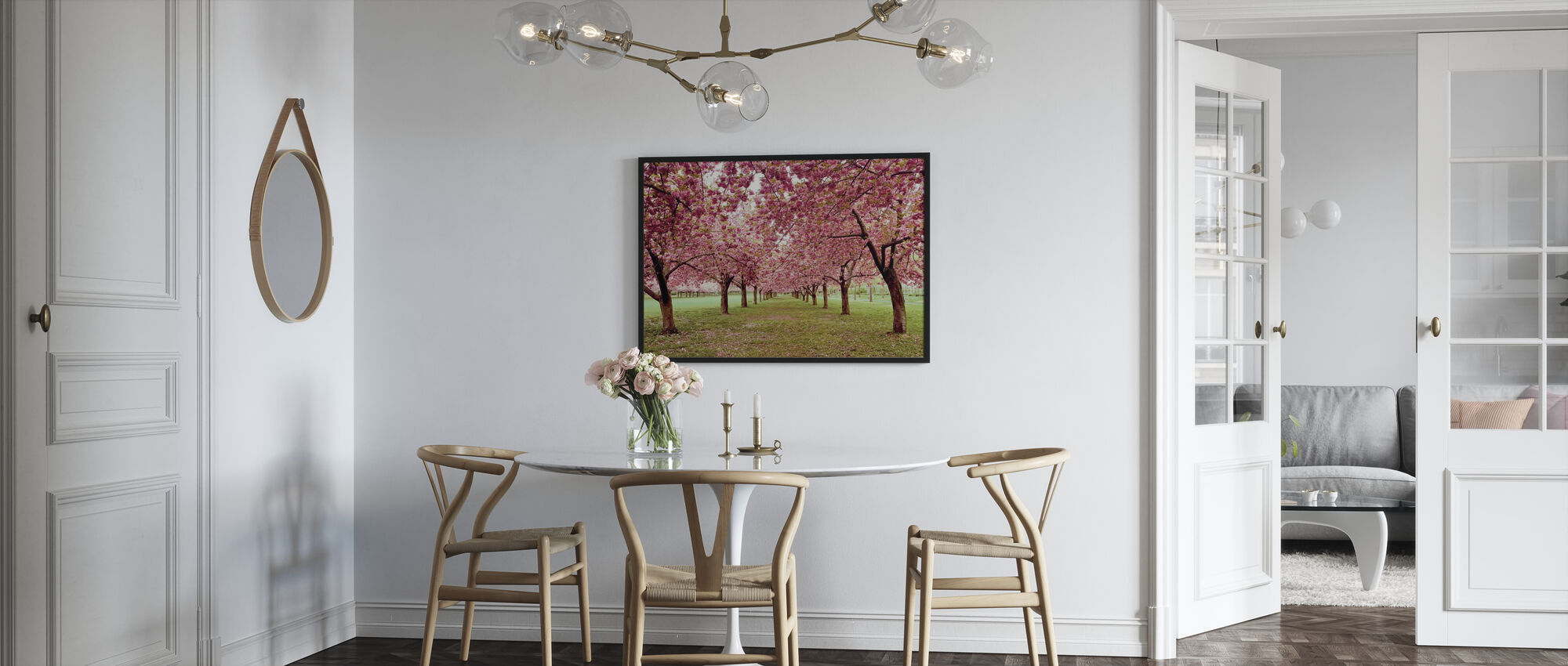 Hall of Cherries - Framed print - Kitchen