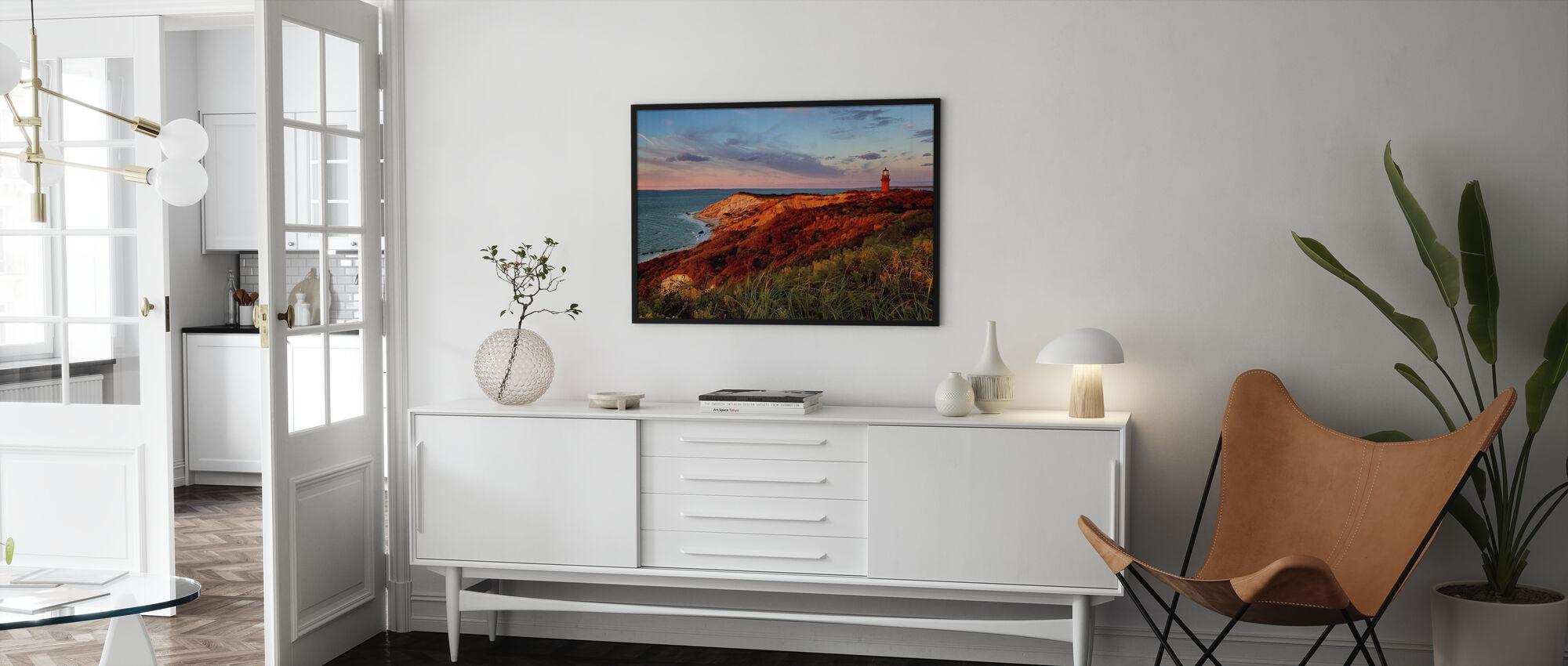 Gay Head Sunset - Framed print - Living Room