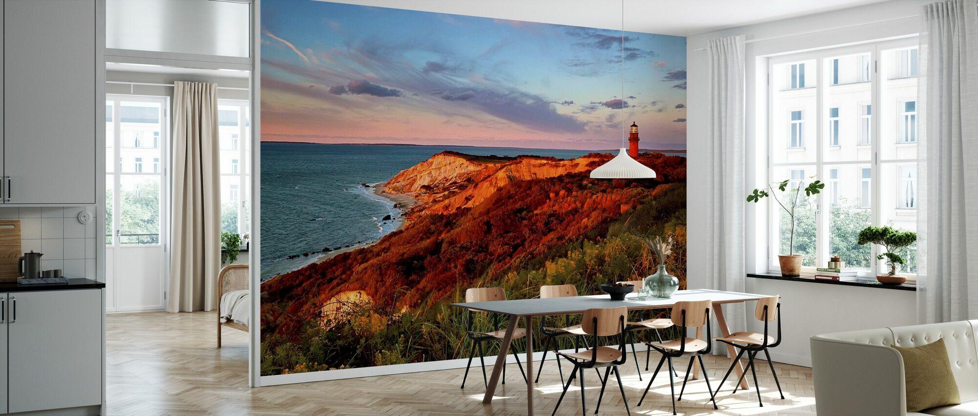 Gay Head Sunset - Wallpaper - Kitchen