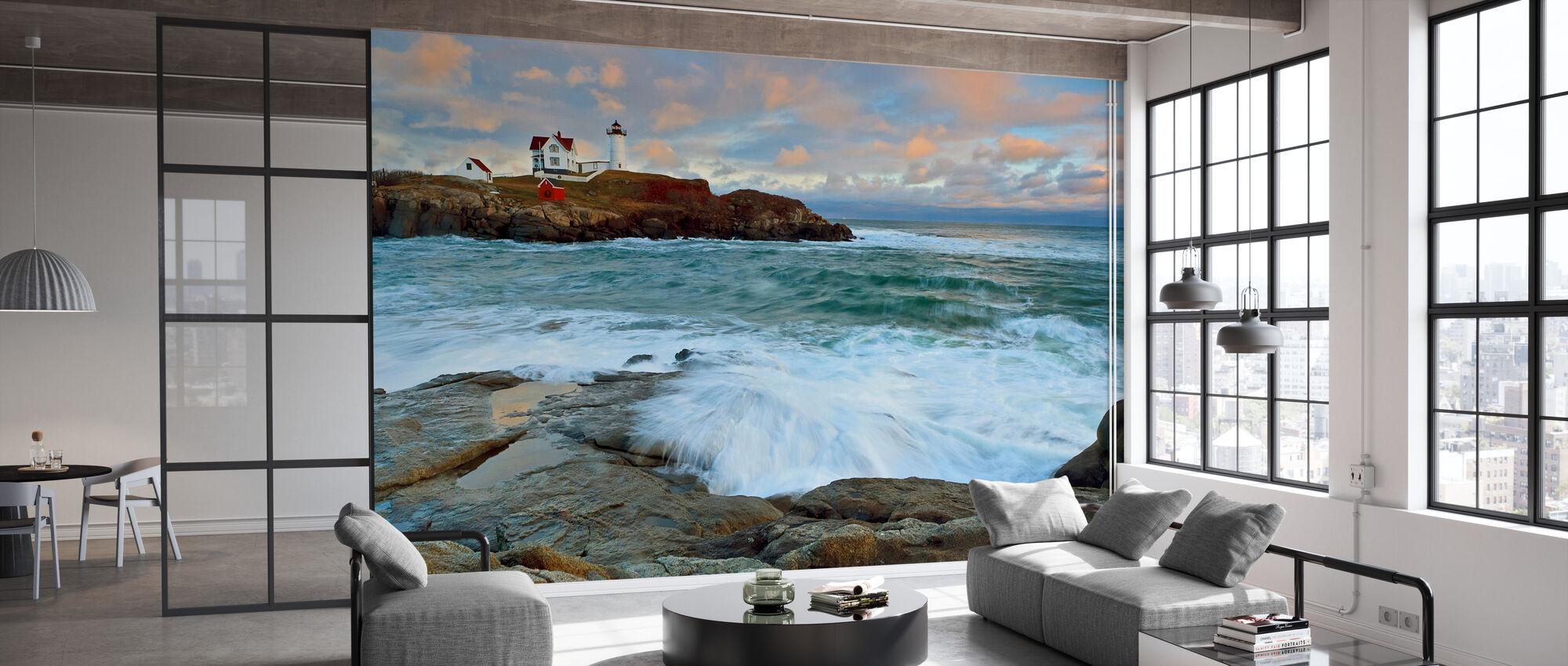 Nubble Sunset - Wallpaper - Office