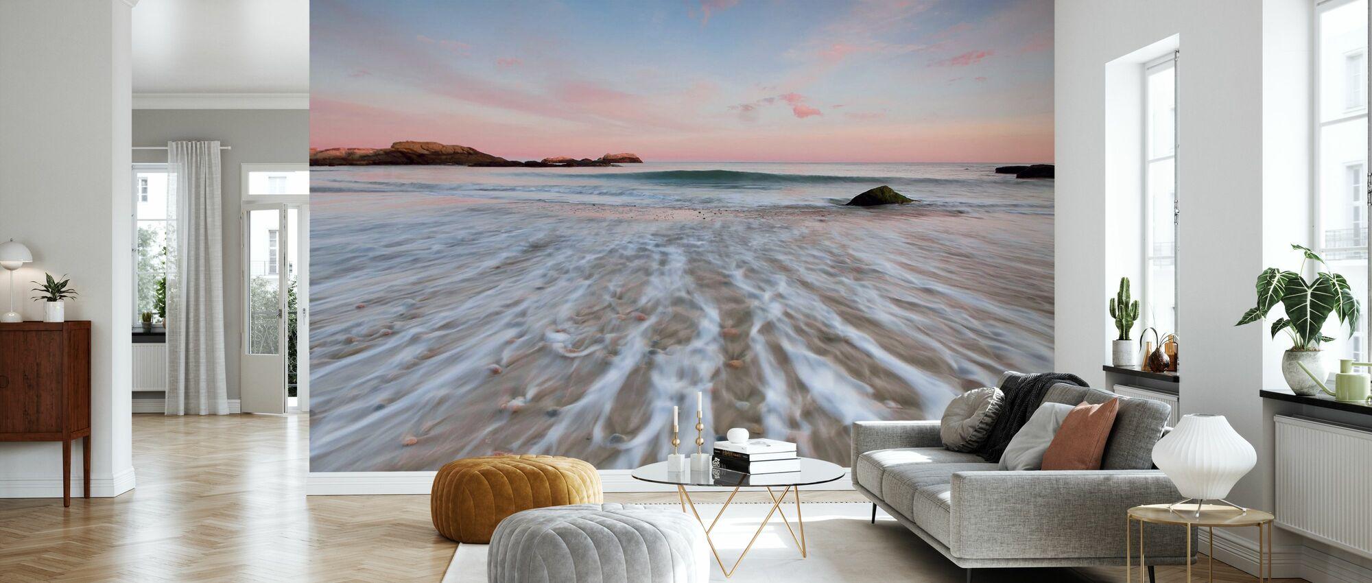 Driftwood Sunset - Wallpaper - Living Room