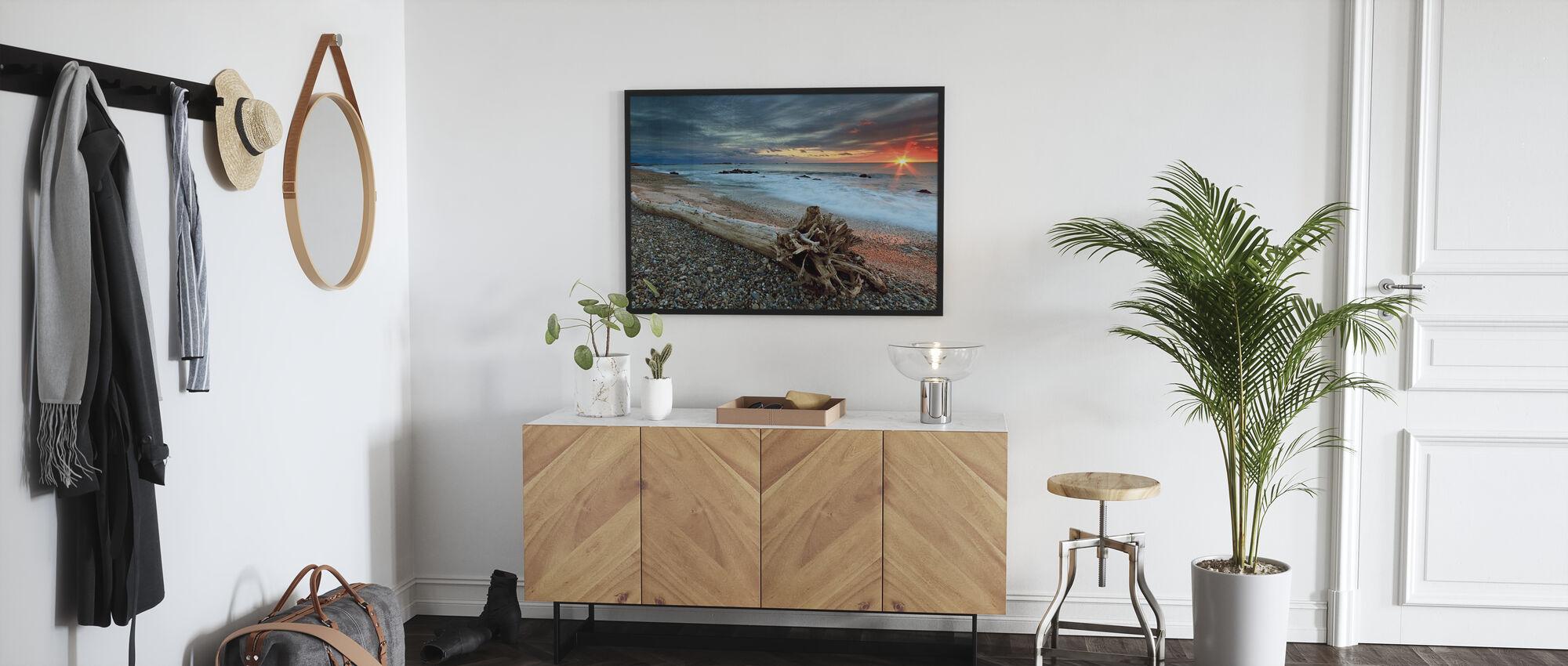 Sakonnet Driftwood - Framed print - Hallway