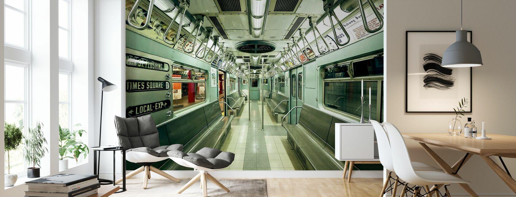 NYC Subway - Wallpaper - Living Room