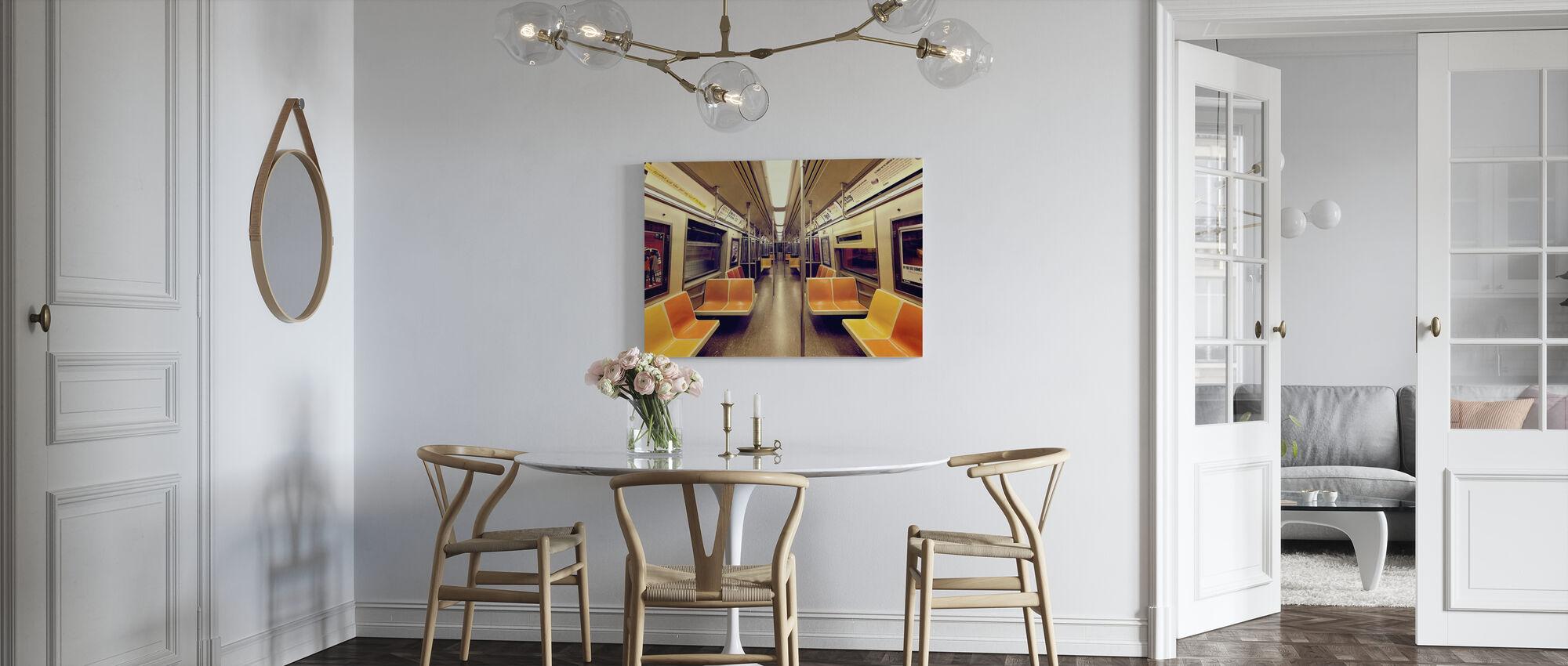 Soul Train - Canvas print - Kitchen