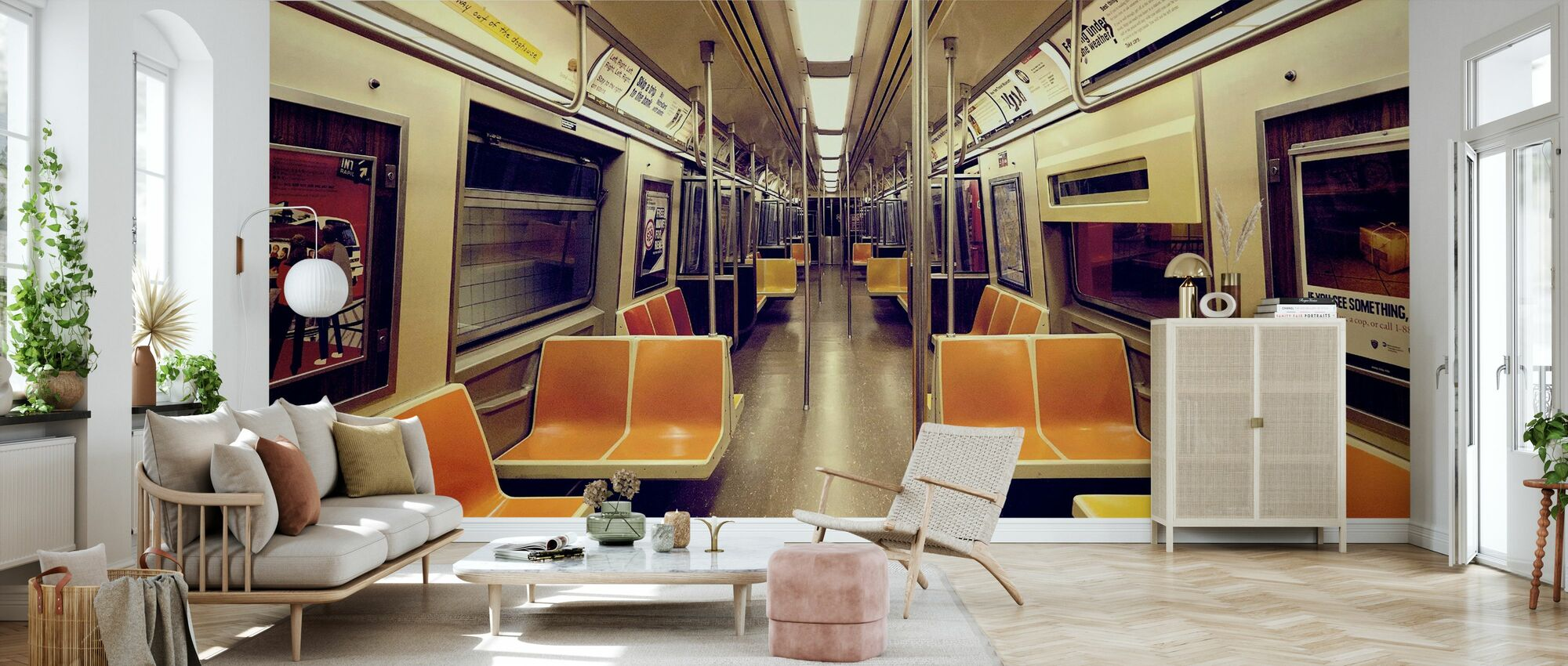 Soul Train - Wallpaper - Living Room