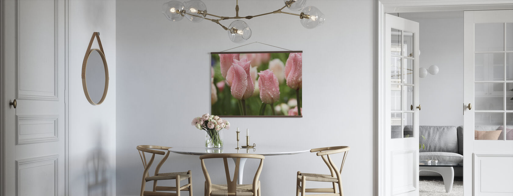 Tulips After Rain - Poster - Kitchen