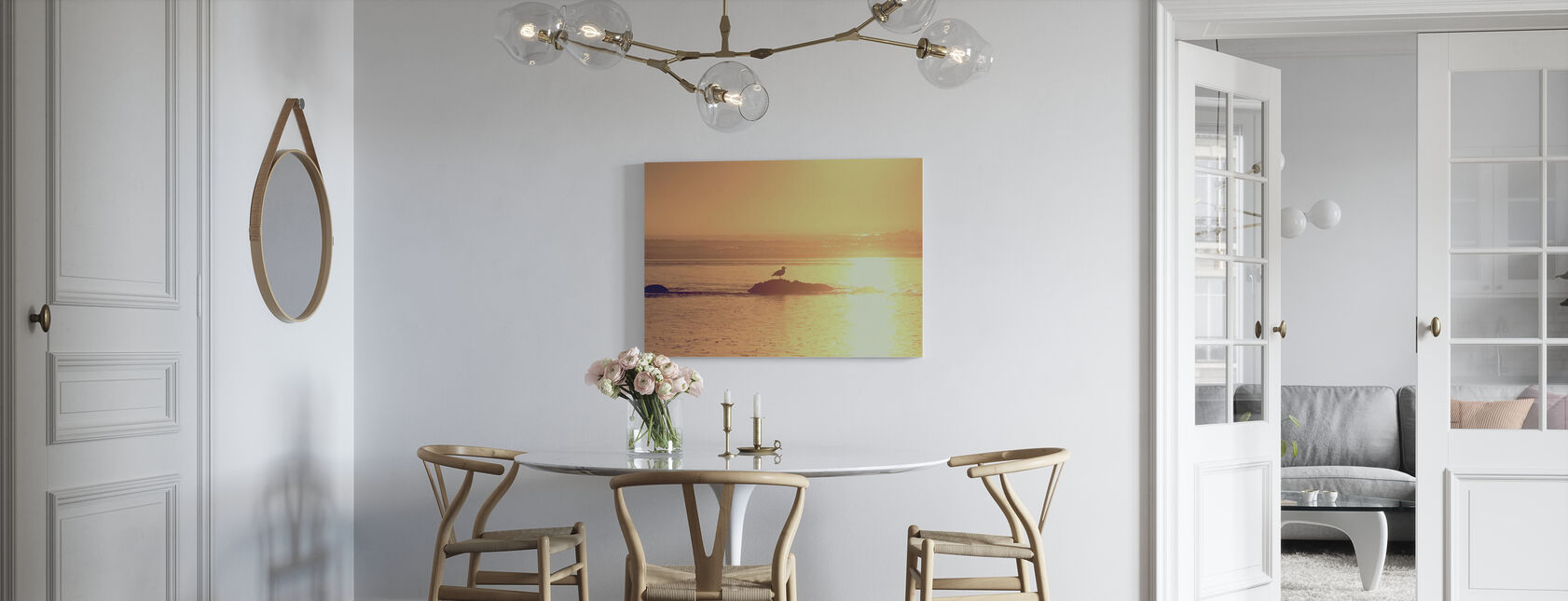 Kalaloch Zonsondergang - Canvas print - Keuken