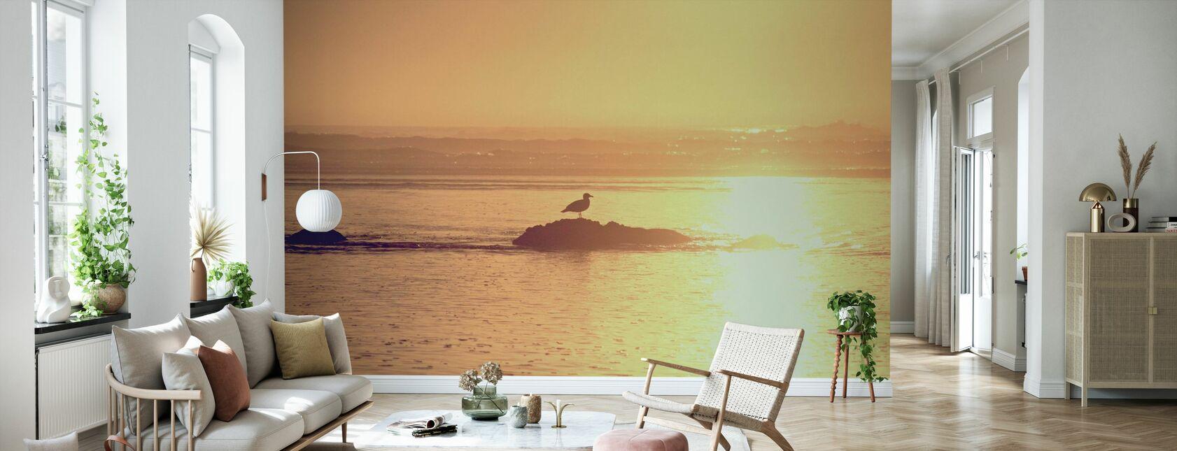 Kalaloch Sunset - Wallpaper - Living Room