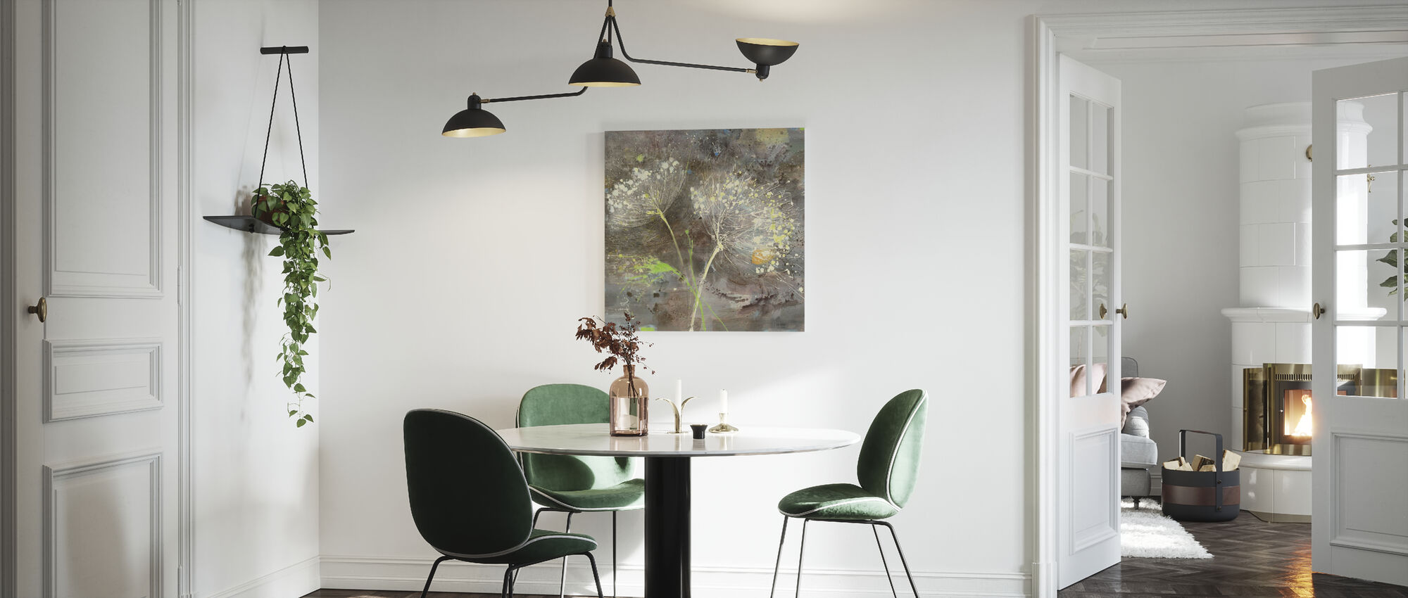 Sparklers 3 - Canvas print - Kitchen