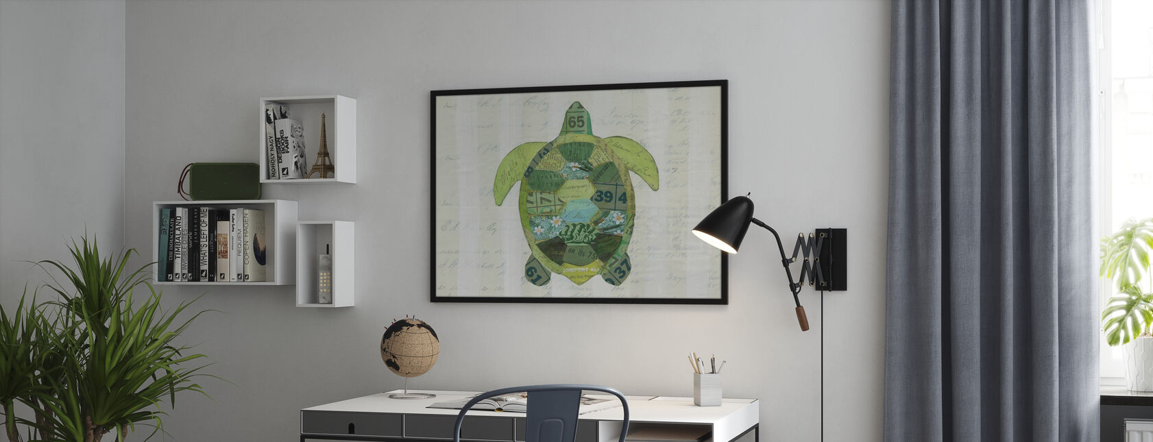 In the Ocean Turtle - Poster - Office