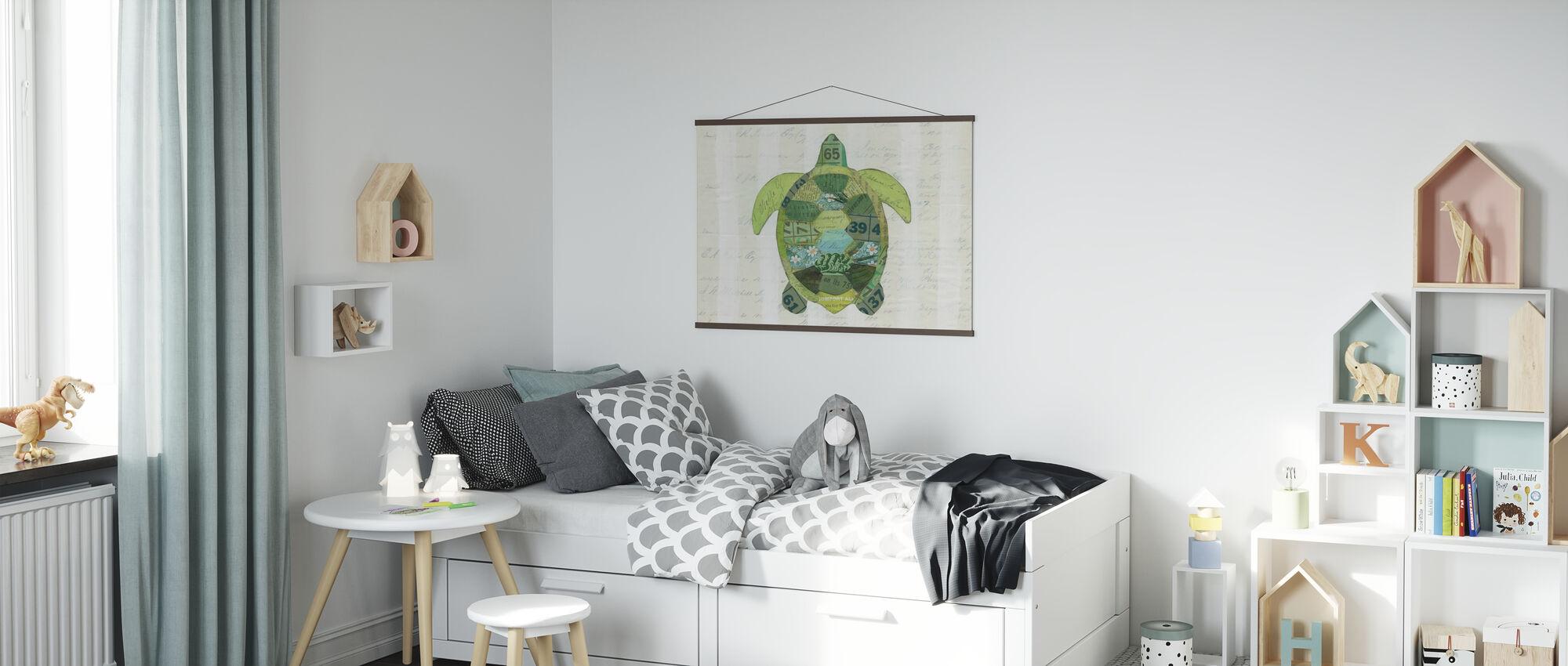 In the Ocean Turtle - Poster - Kids Room