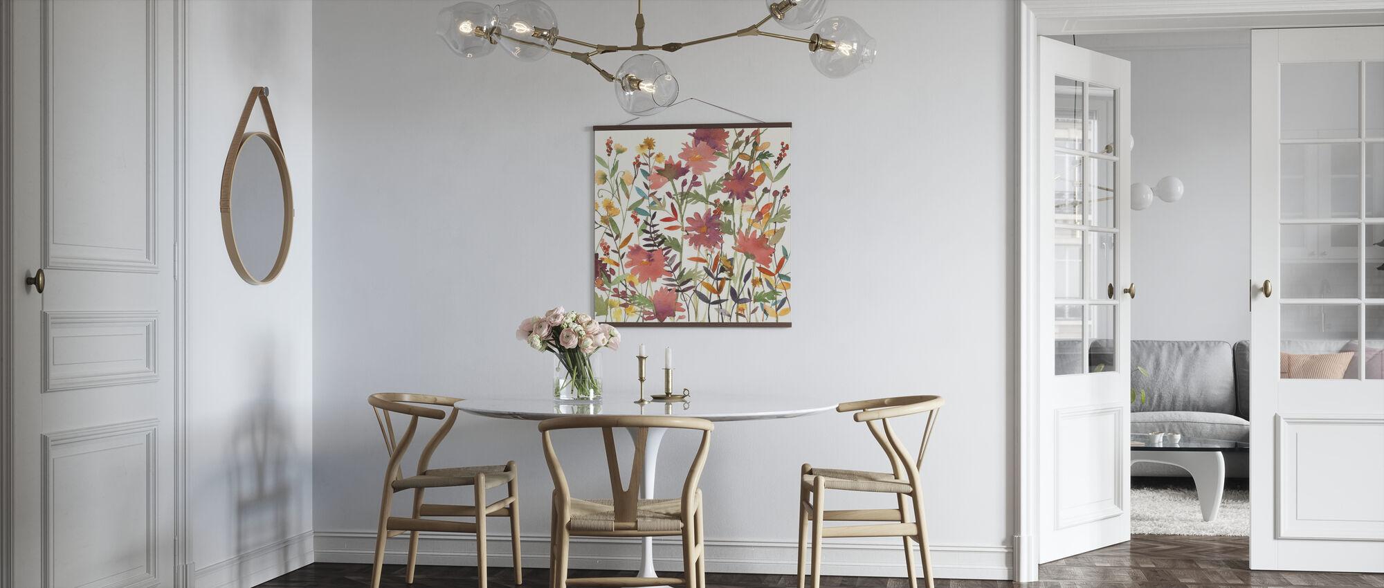 Herbstblumen - Poster - Küchen
