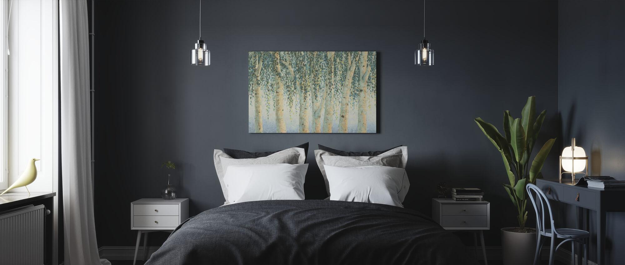 Vegende Takken - Canvas print - Slaapkamer