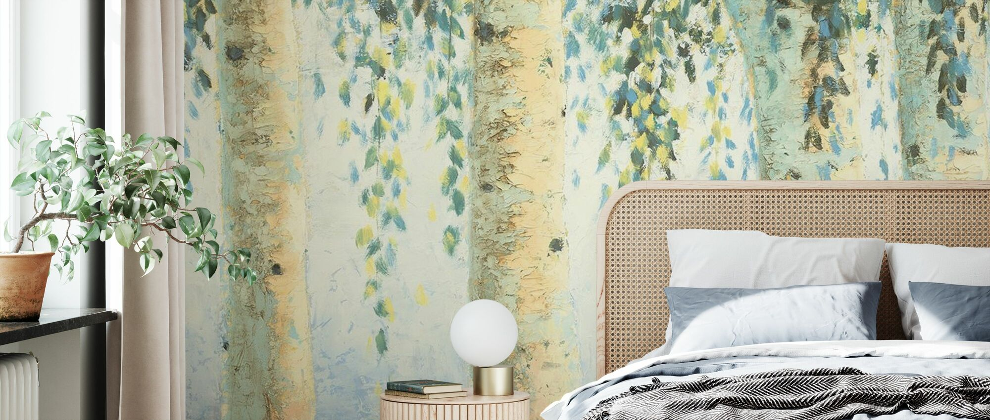 Sweeping Branches - Wallpaper - Bedroom