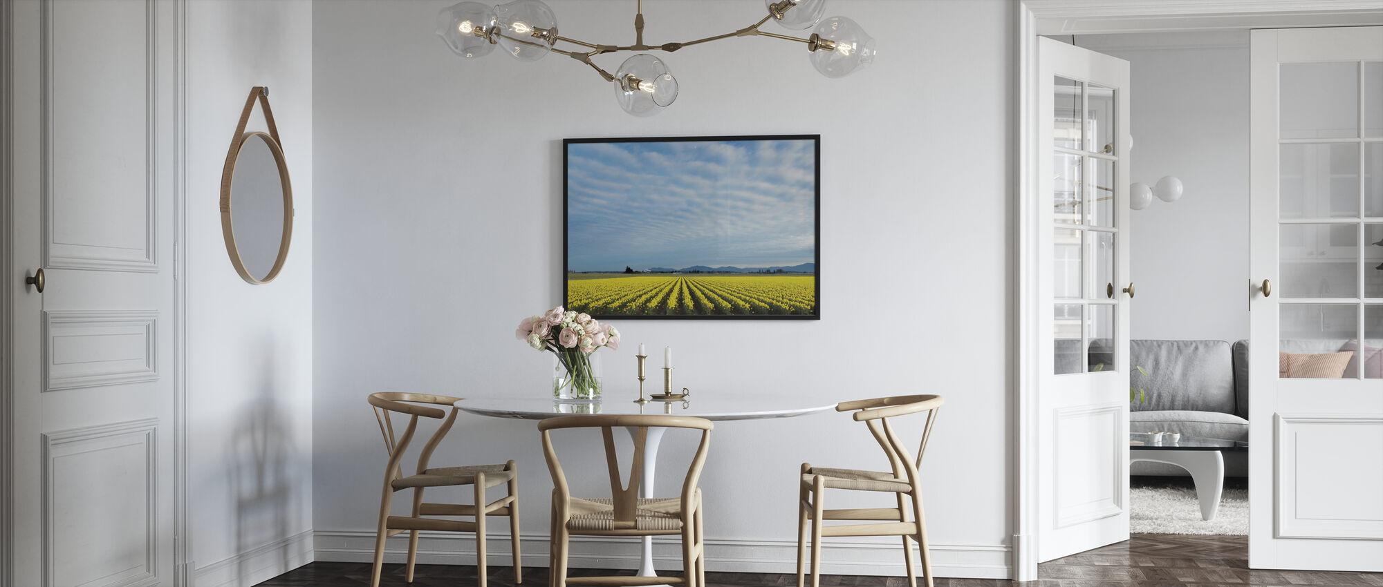 Skagitvallei Narcissen - Ingelijste print - Keuken