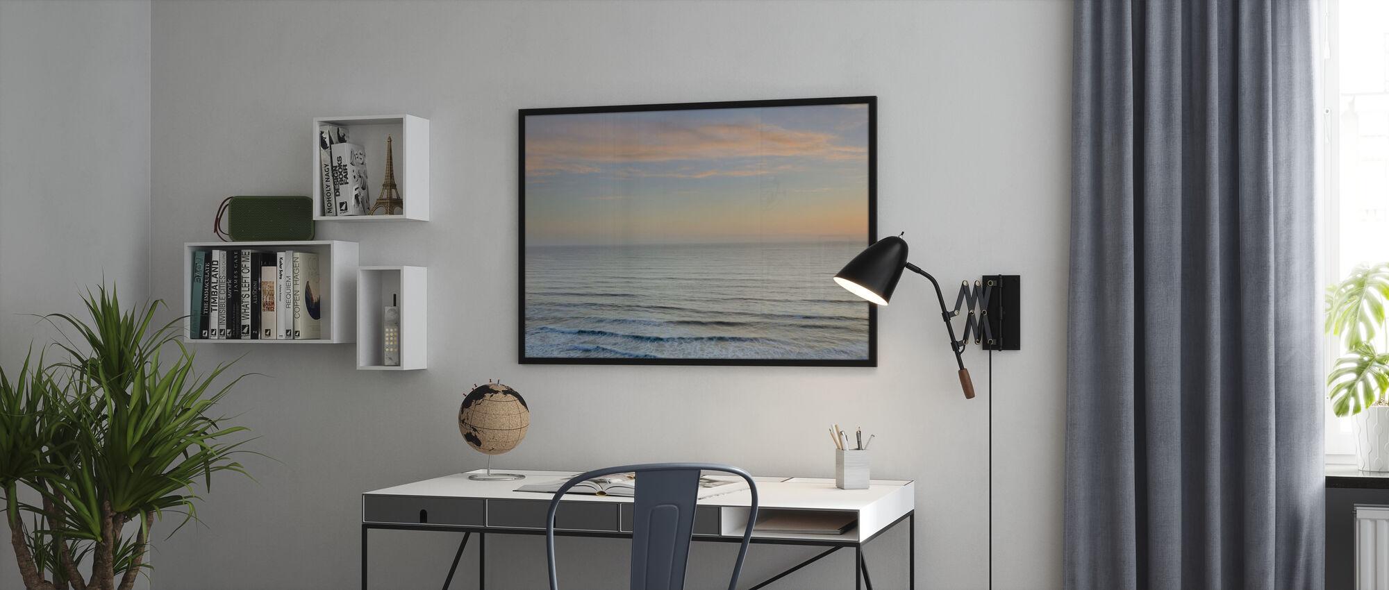 Sunset on Redwoods Coast - Poster - Office