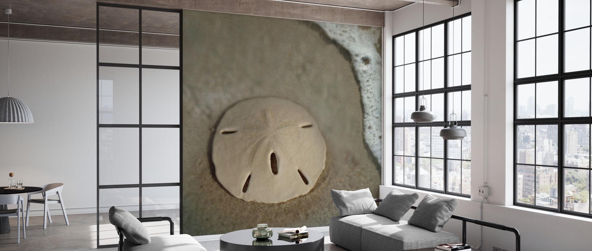 Sand Dollar Surf - Wallpaper - Office