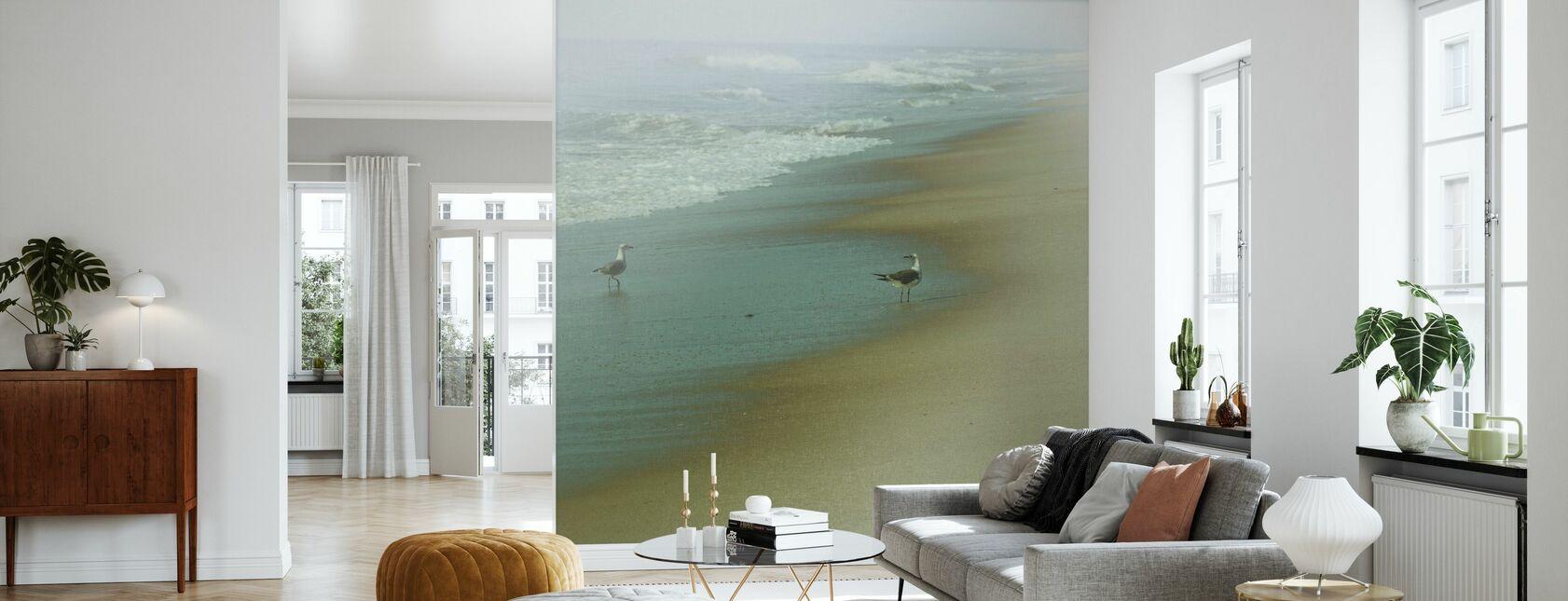 Seabirds - Wallpaper - Living Room