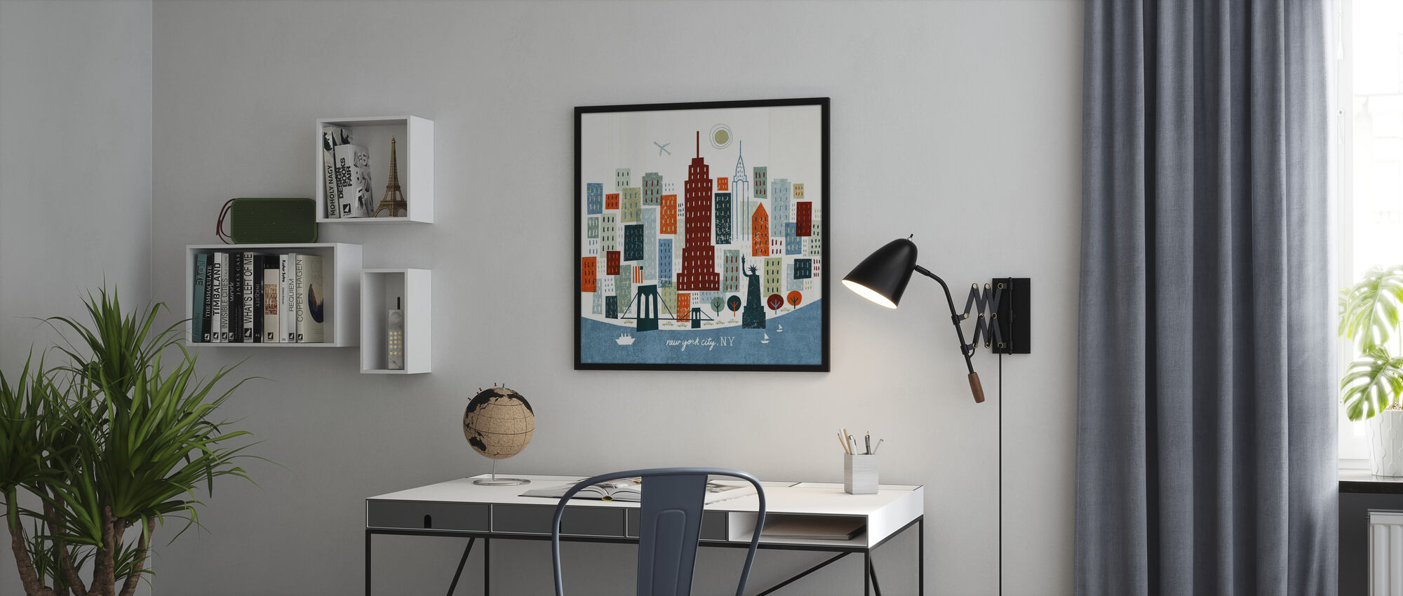 Colorful New York - Poster - Office