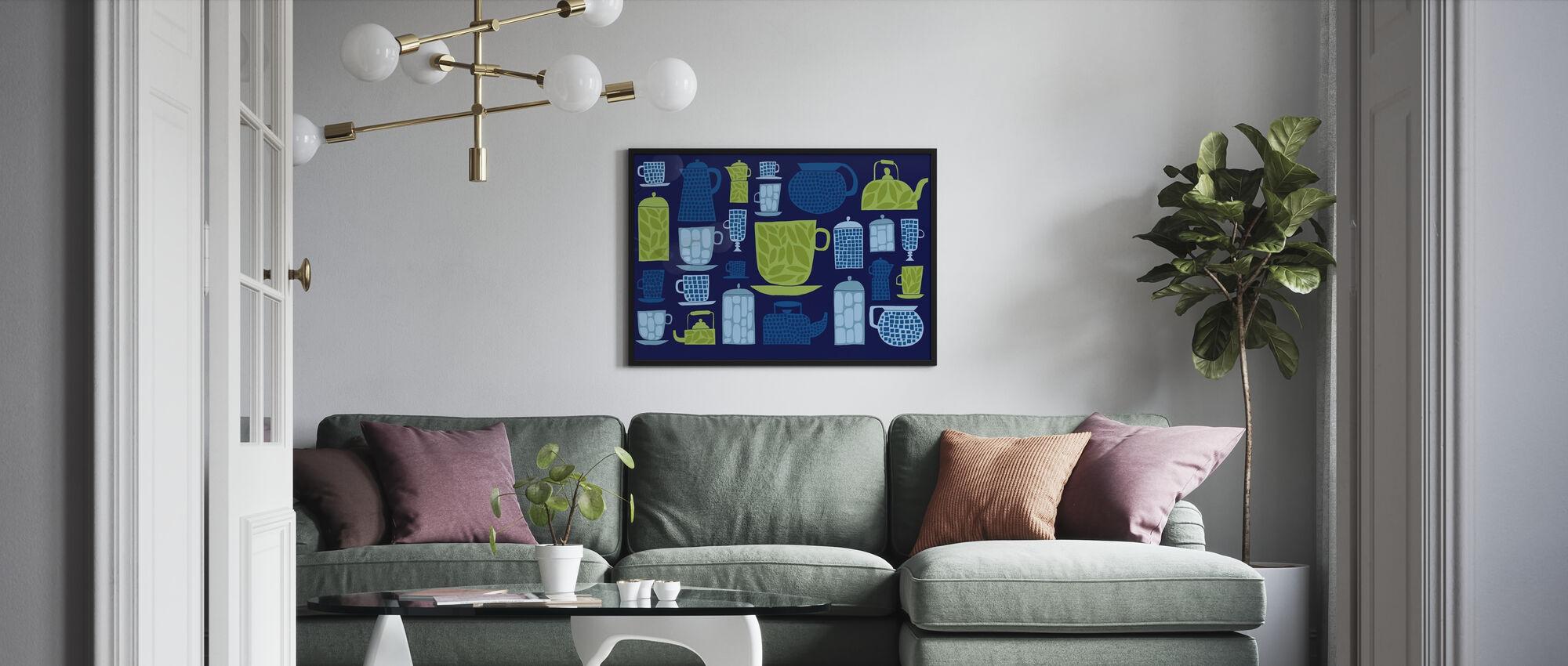 Retro Kitchen II - Poster - Living Room