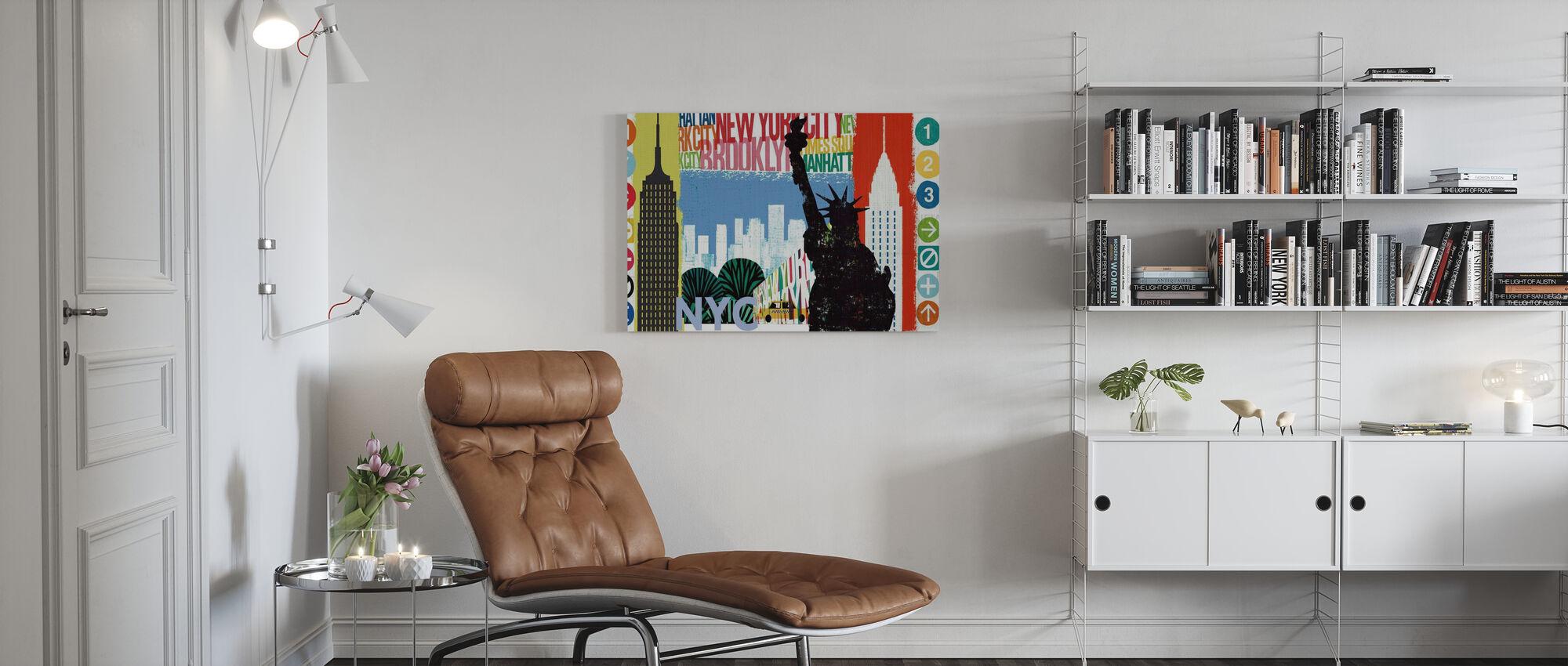 New York City Life I - Canvas print - Living Room