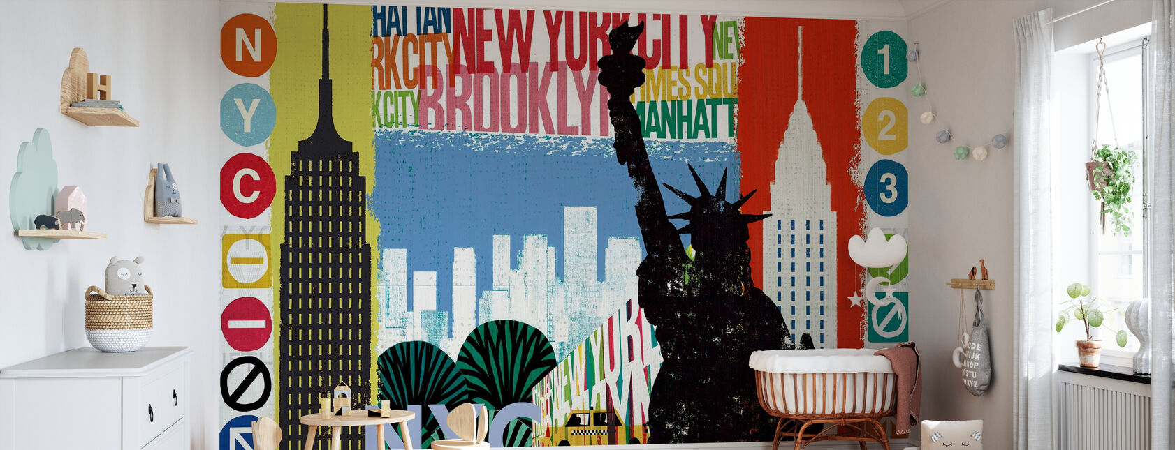 New York City Life I - Wallpaper - Nursery
