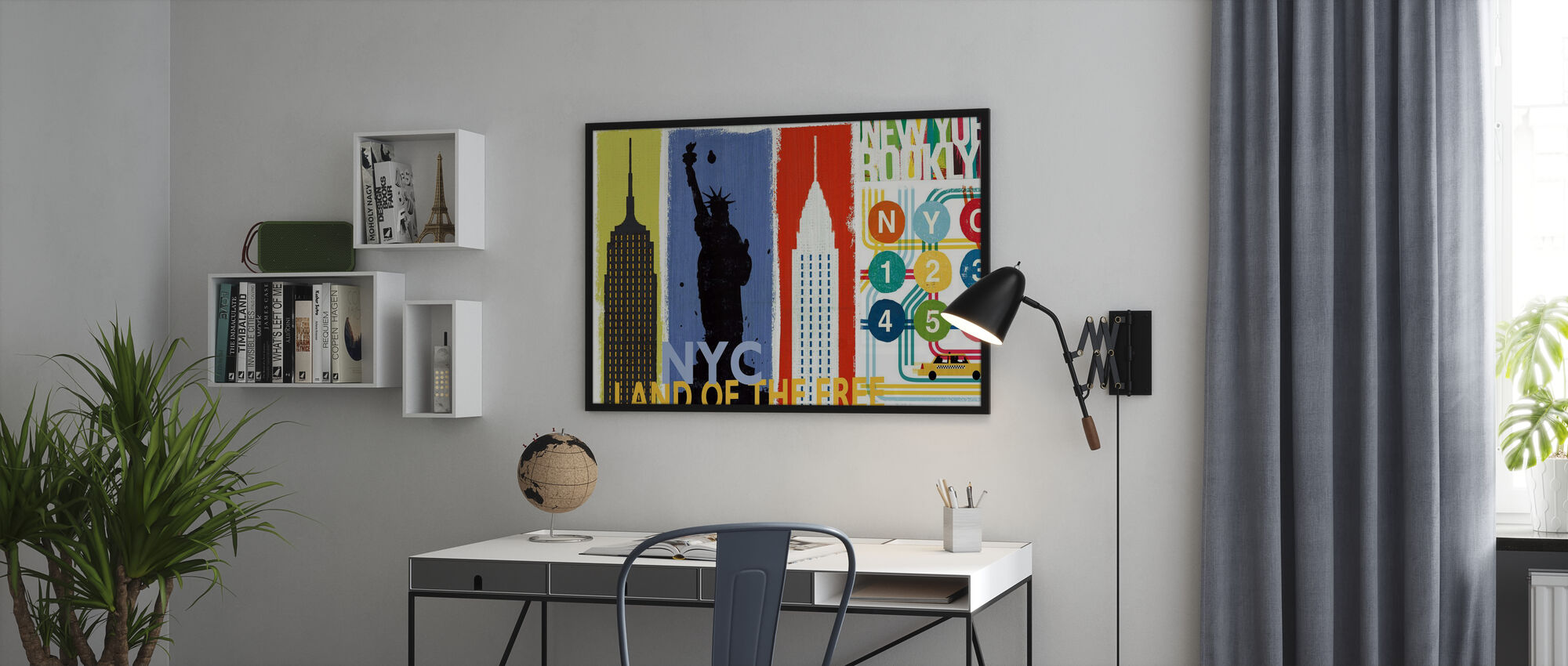 New York City Life II - Poster - Office