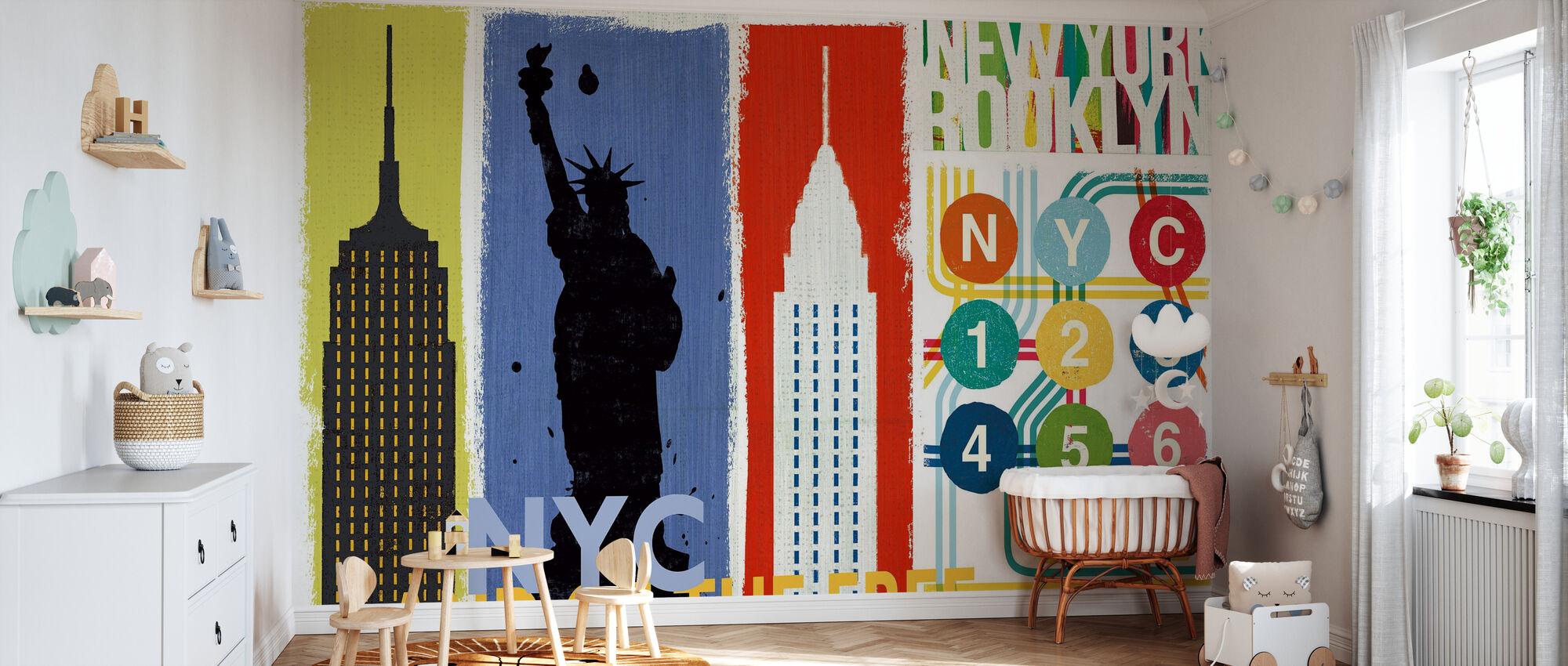 New York City - Tapete - Babyzimmer