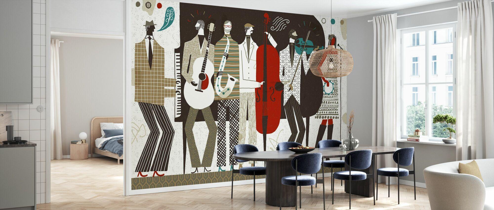 The Band Neutral - Wallpaper - Kitchen