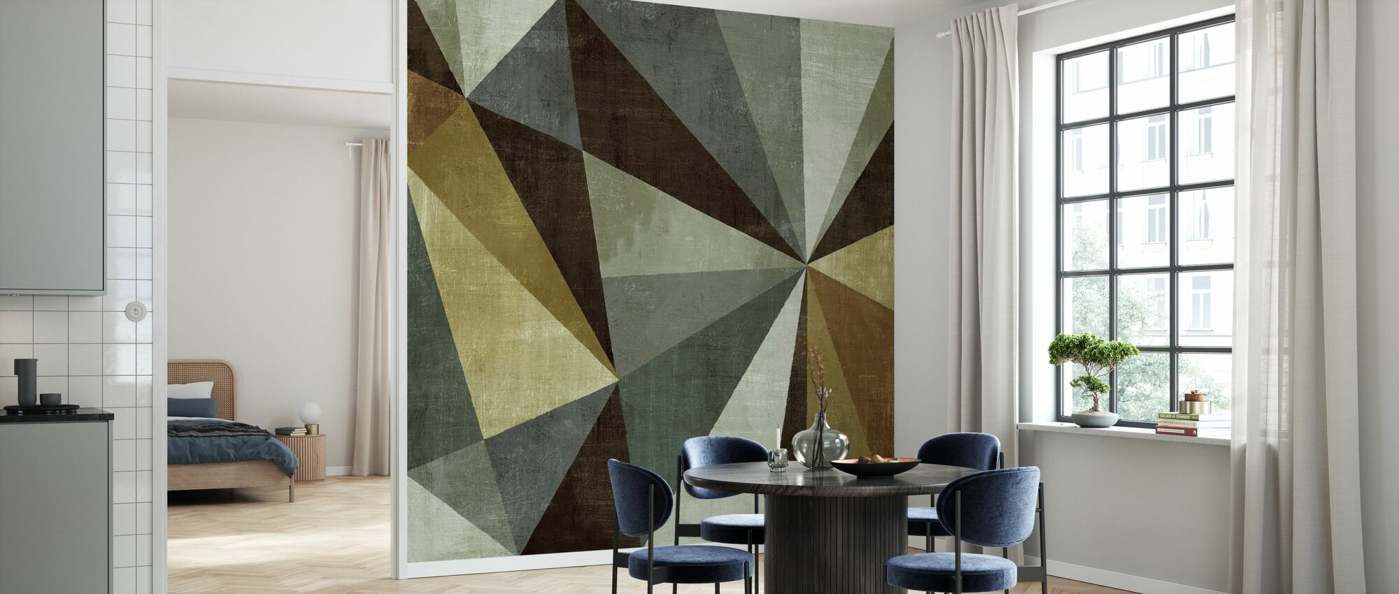 Triangulawesome - Wallpaper - Kitchen