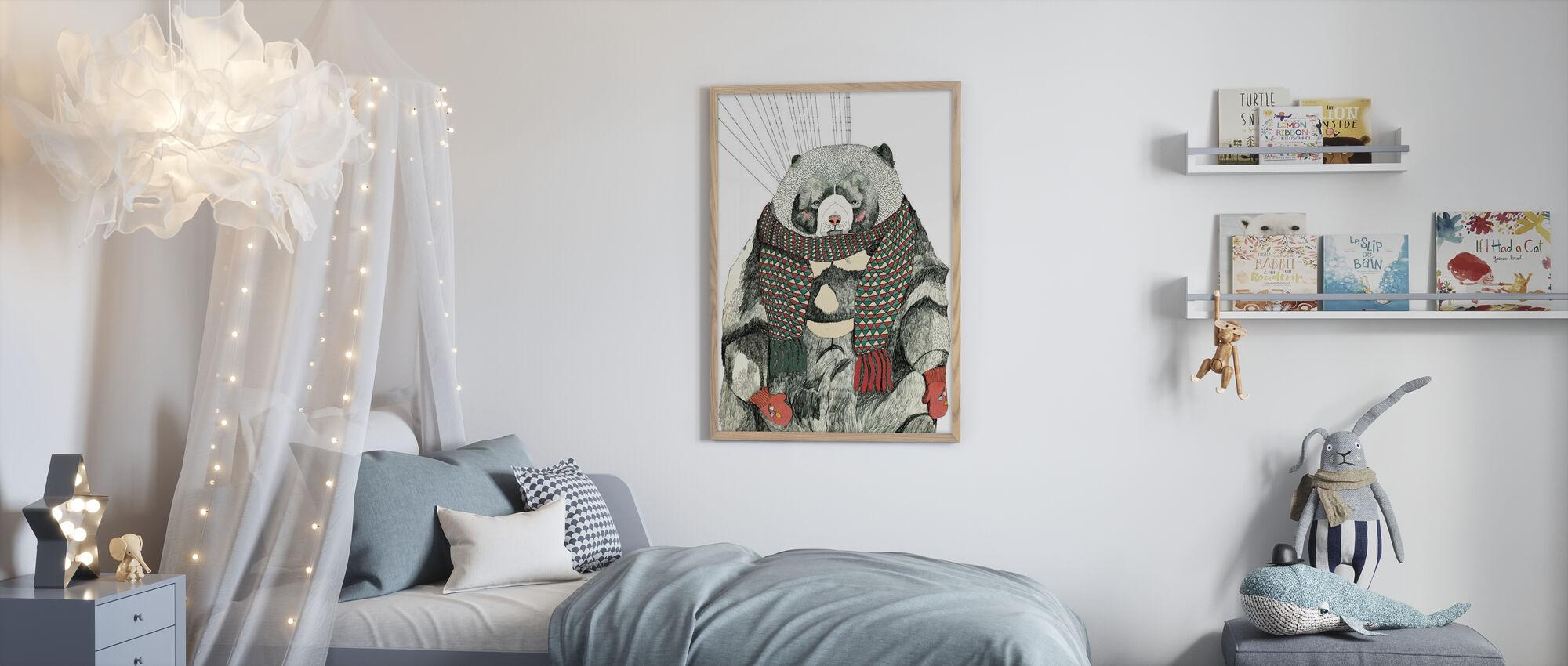Woolly Bear - Poster - Kids Room